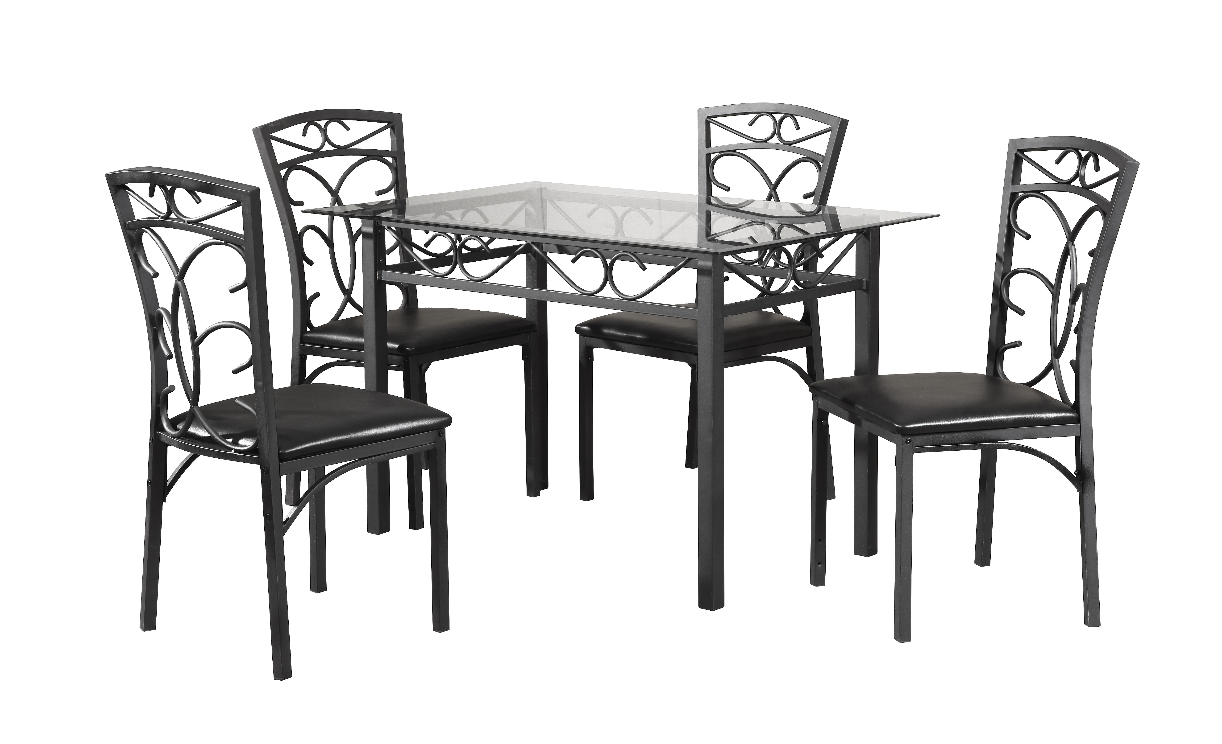 Inspiration about Wayfair With Regard To Best And Newest Ganya 5 Piece Dining Sets (#6 of 20)