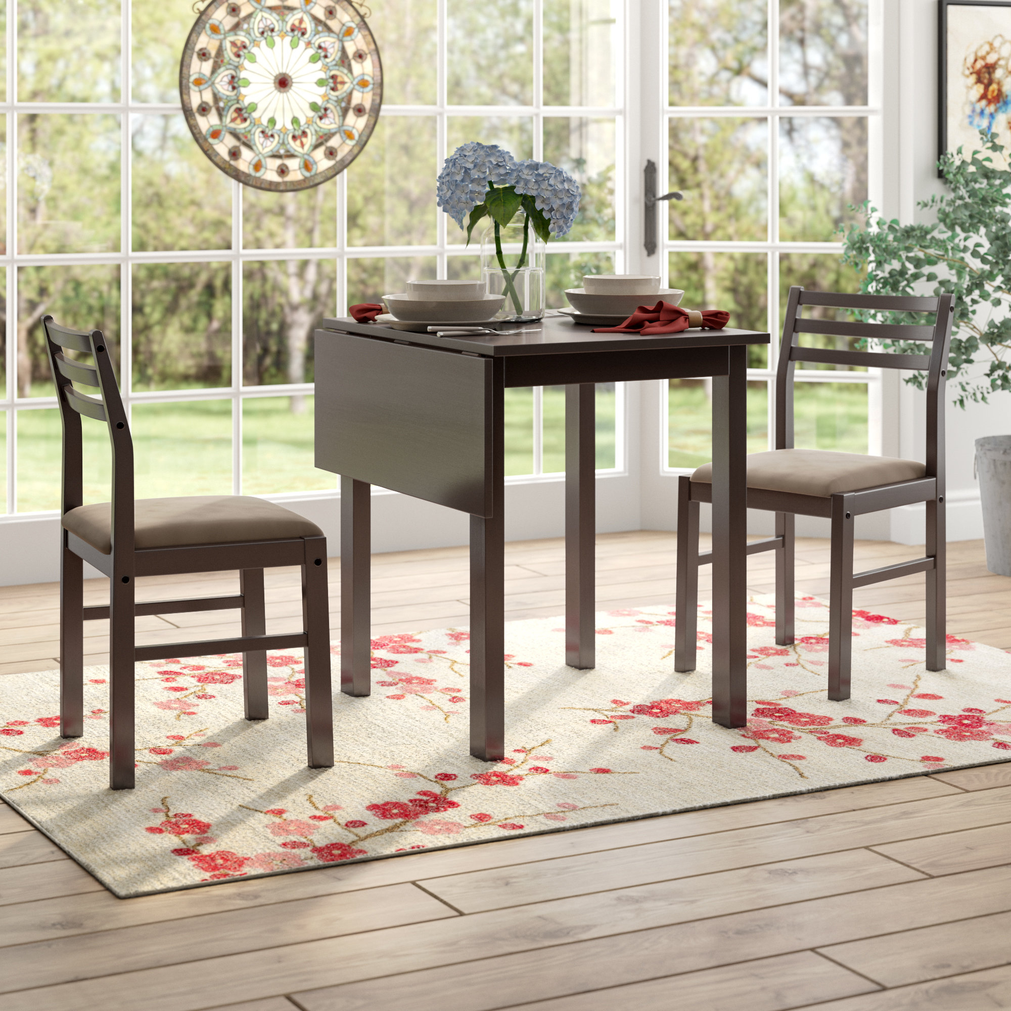 Wayfair With Regard To Famous Penelope 3 Piece Counter Height Wood Dining Sets (#17 of 20)