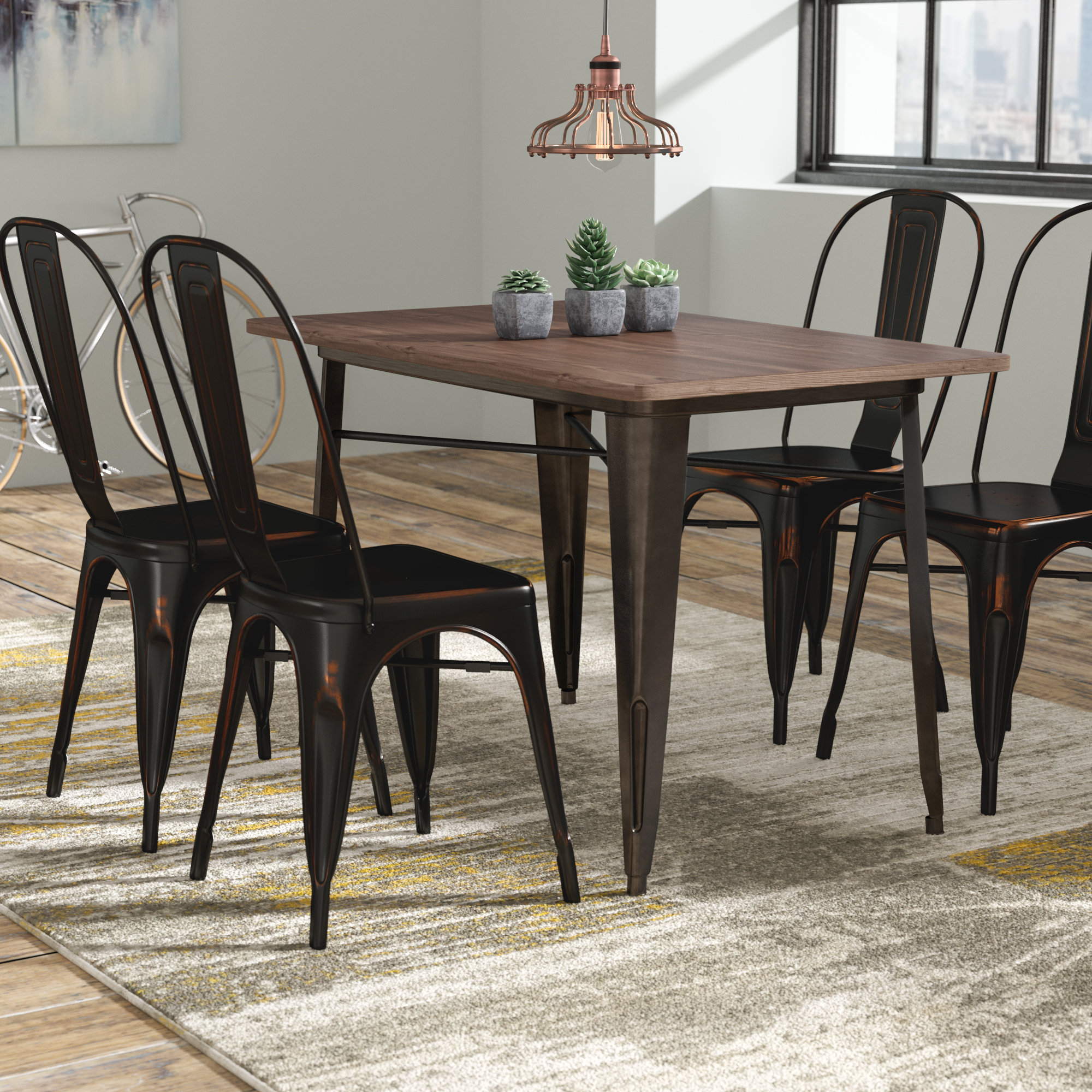 Inspiration about Wayfair Within 2018 Telauges 5 Piece Dining Sets (#16 of 20)