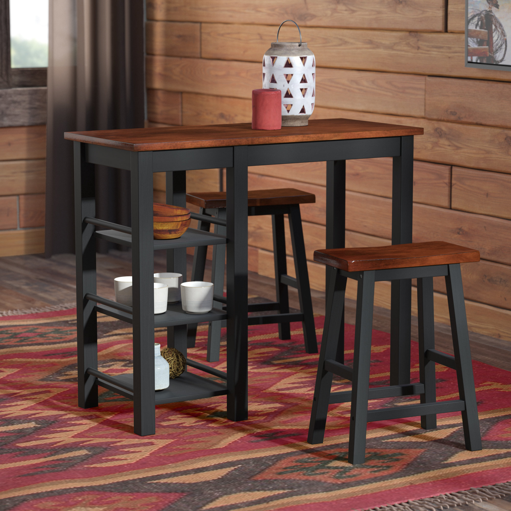 Inspiration about Wayfair Within Berrios 3 Piece Counter Height Dining Sets (#1 of 20)