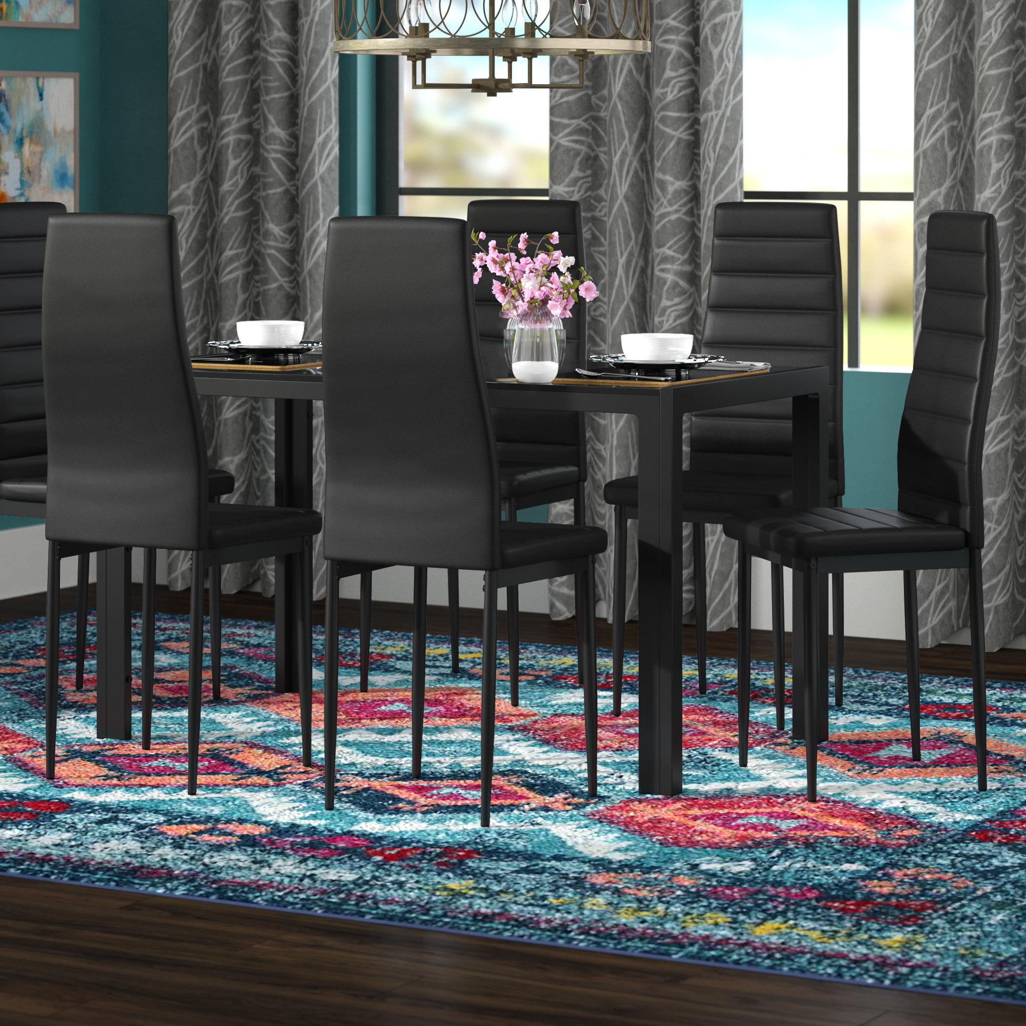 Inspiration about Wayfair Within Emmeline 5 Piece Breakfast Nook Dining Sets (#11 of 20)