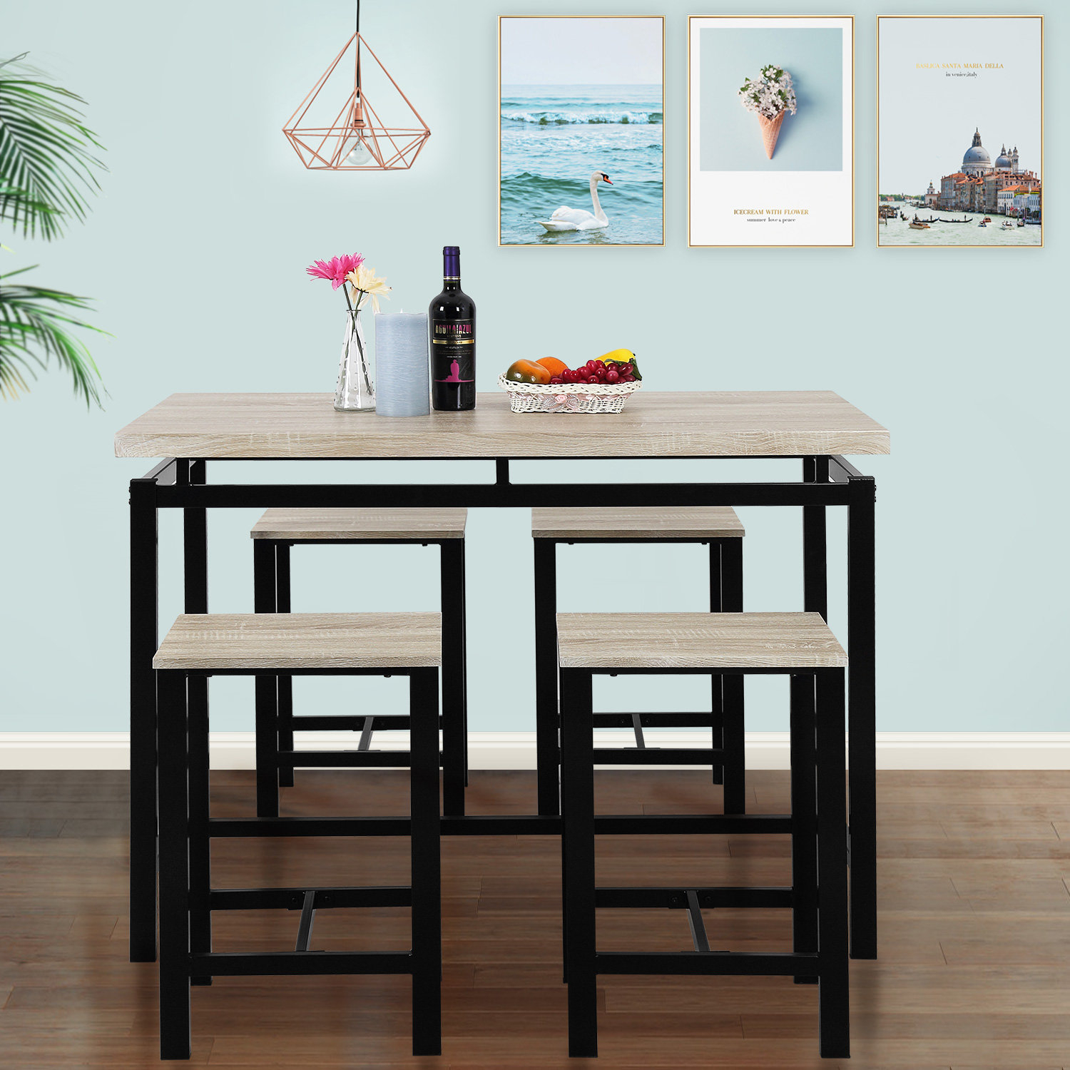 Inspiration about Weatherholt Dining Tables With Regard To Well Liked Weatherholt Dining Table & Reviews (#1 of 20)
