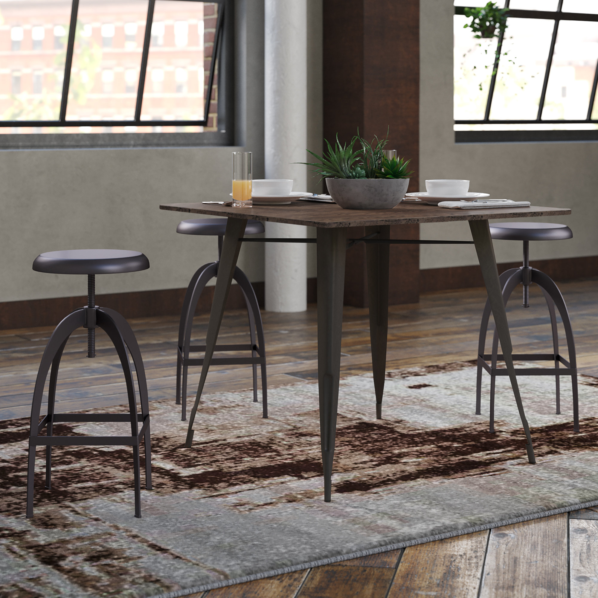 Inspiration about Weatherholt Dining Tables With Trendy Union Rustic Claremont Dining Table & Reviews (#10 of 20)