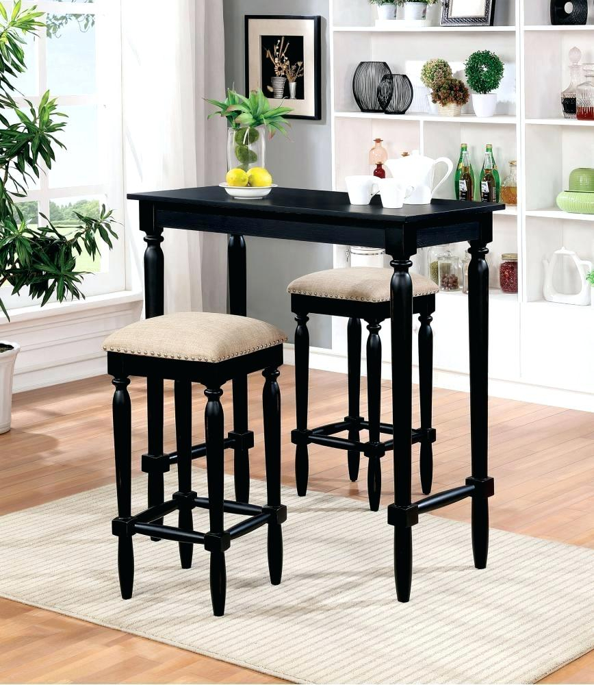 Well Known Bar Table And Stools Set Apartmentz Bar Table Sets – Redpulsetoken (#18 of 20)