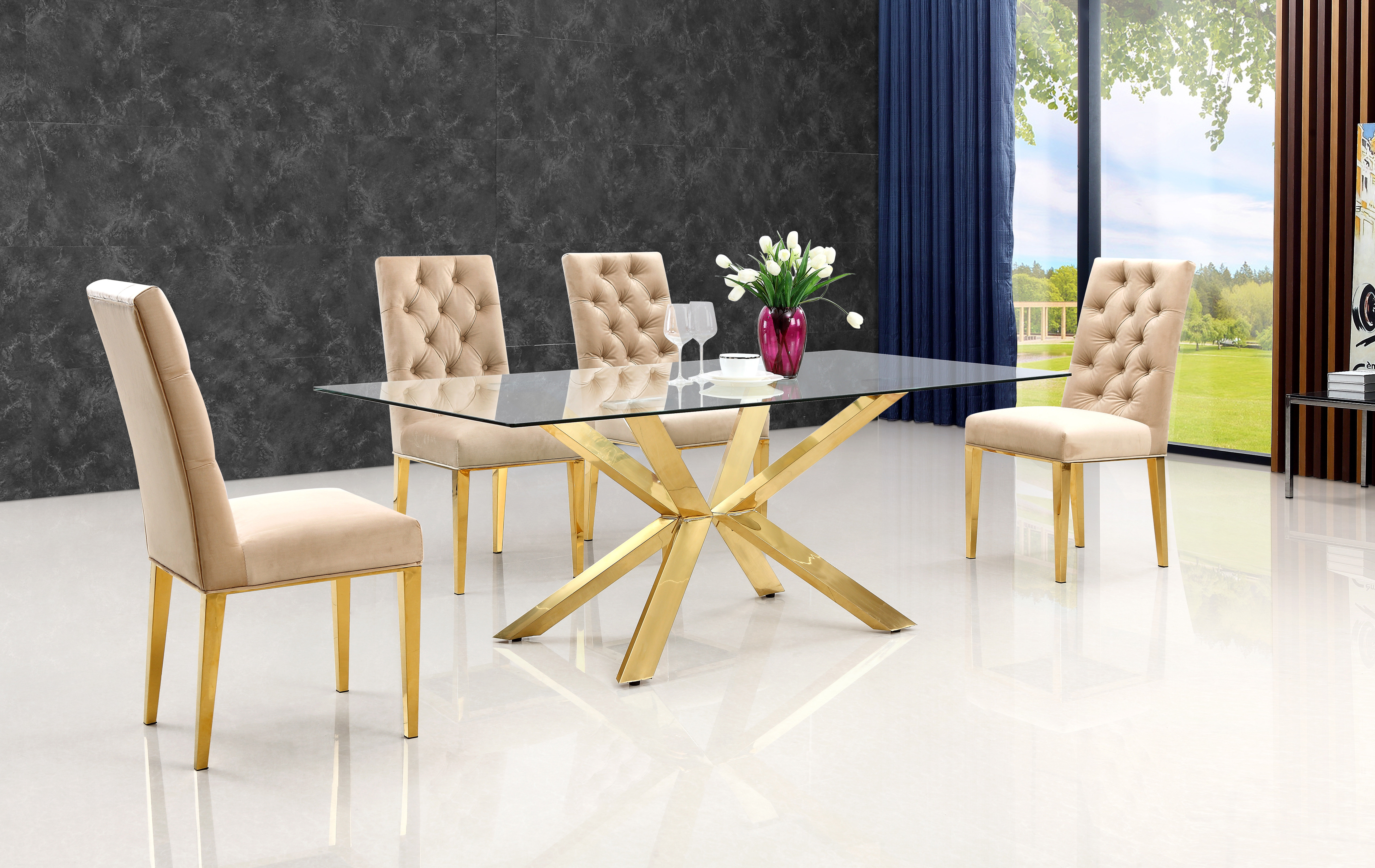 Inspiration about Well Known Everly Quinn Lilly 5 Piece Dining Set & Reviews (#18 of 20)