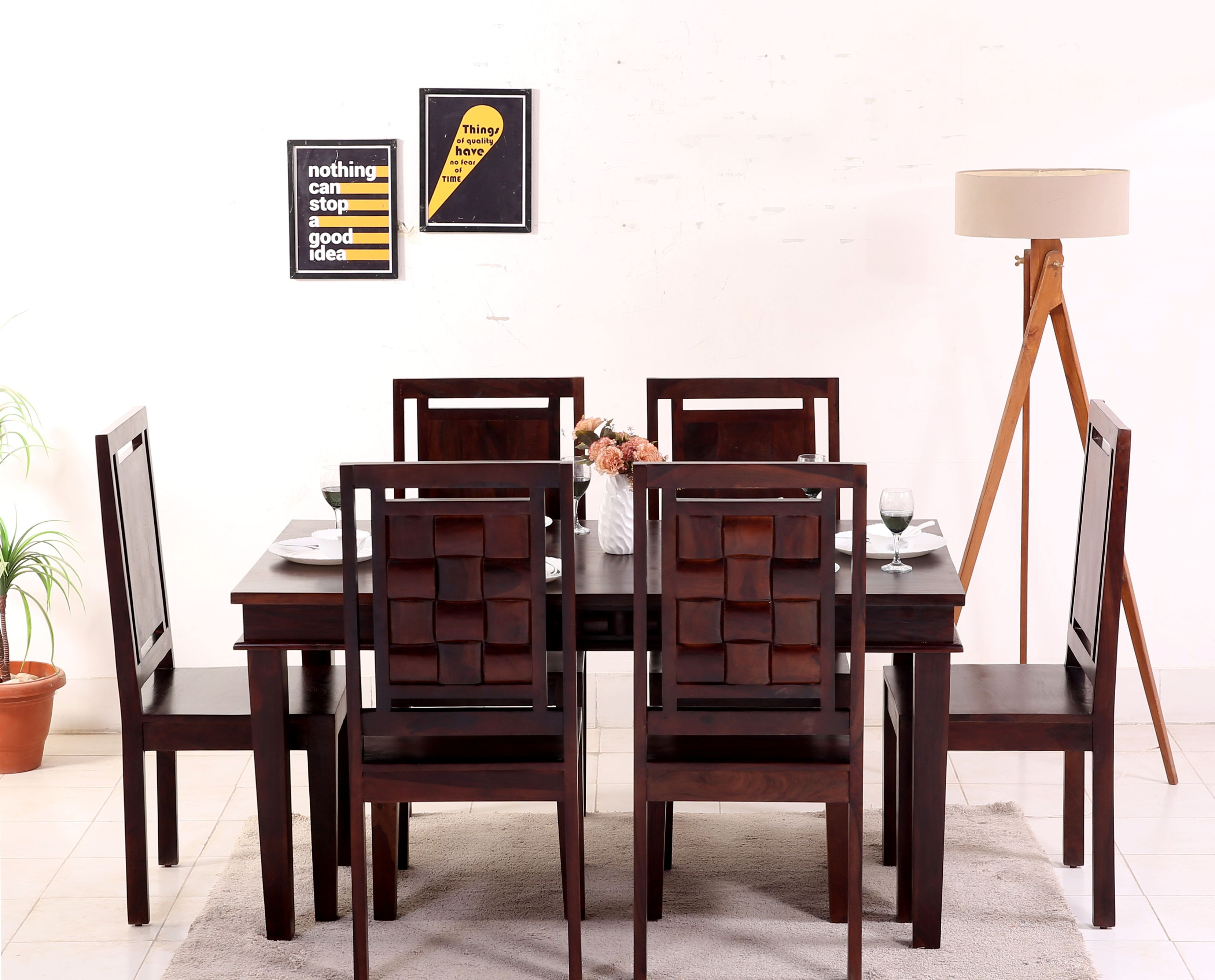 Inspiration about Well Known Give A Simple And Royal Look To Your Dining Space With The For Baxton Studio Keitaro 5 Piece Dining Sets (#6 of 20)
