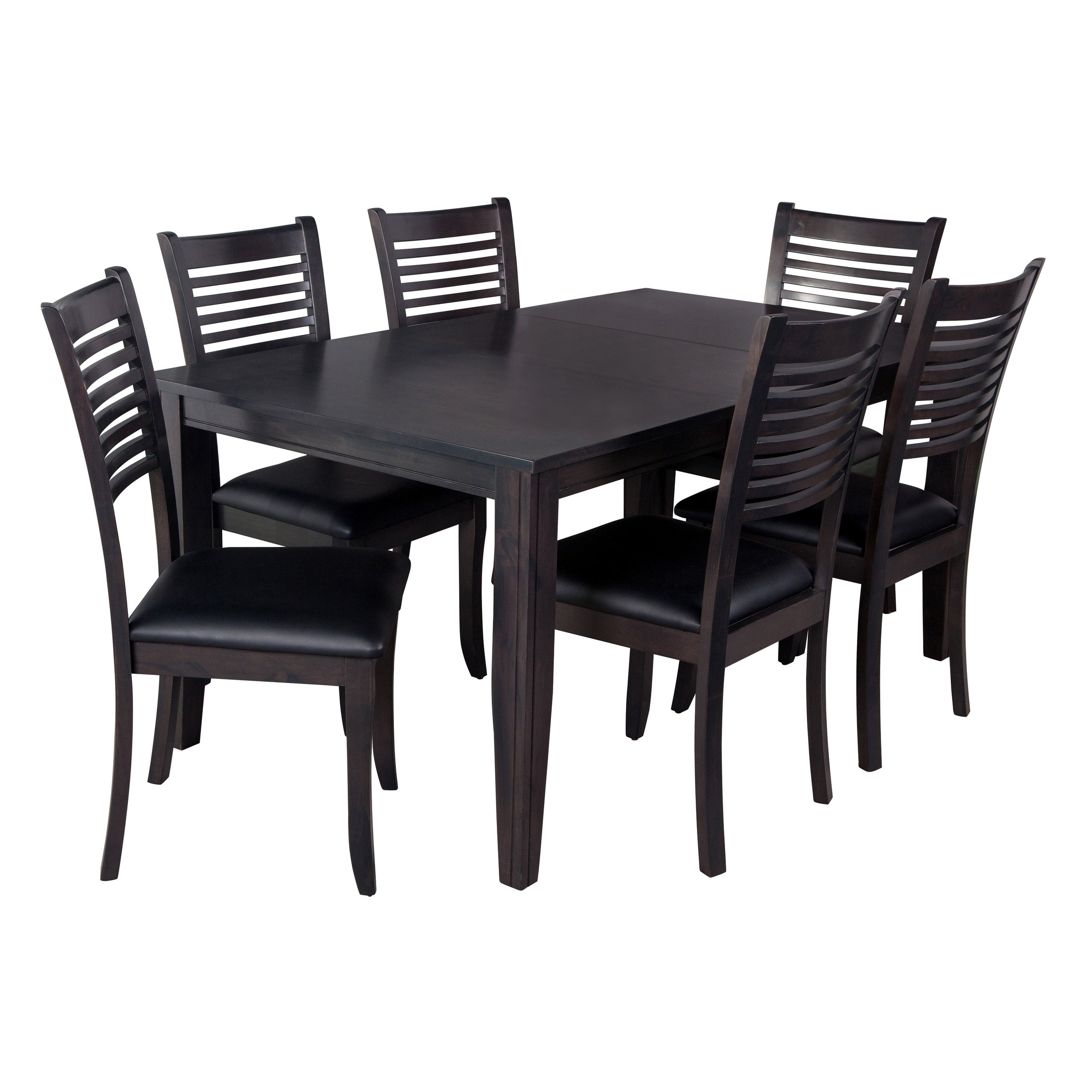 "Inspiration about Well Known Shop 7 Piece Solid Wood Dining Set ""aden"", Modern Kitchen Table Set Intended For Adan 5 Piece Solid Wood Dining Sets (Set Of 5) (#7 of 20)"