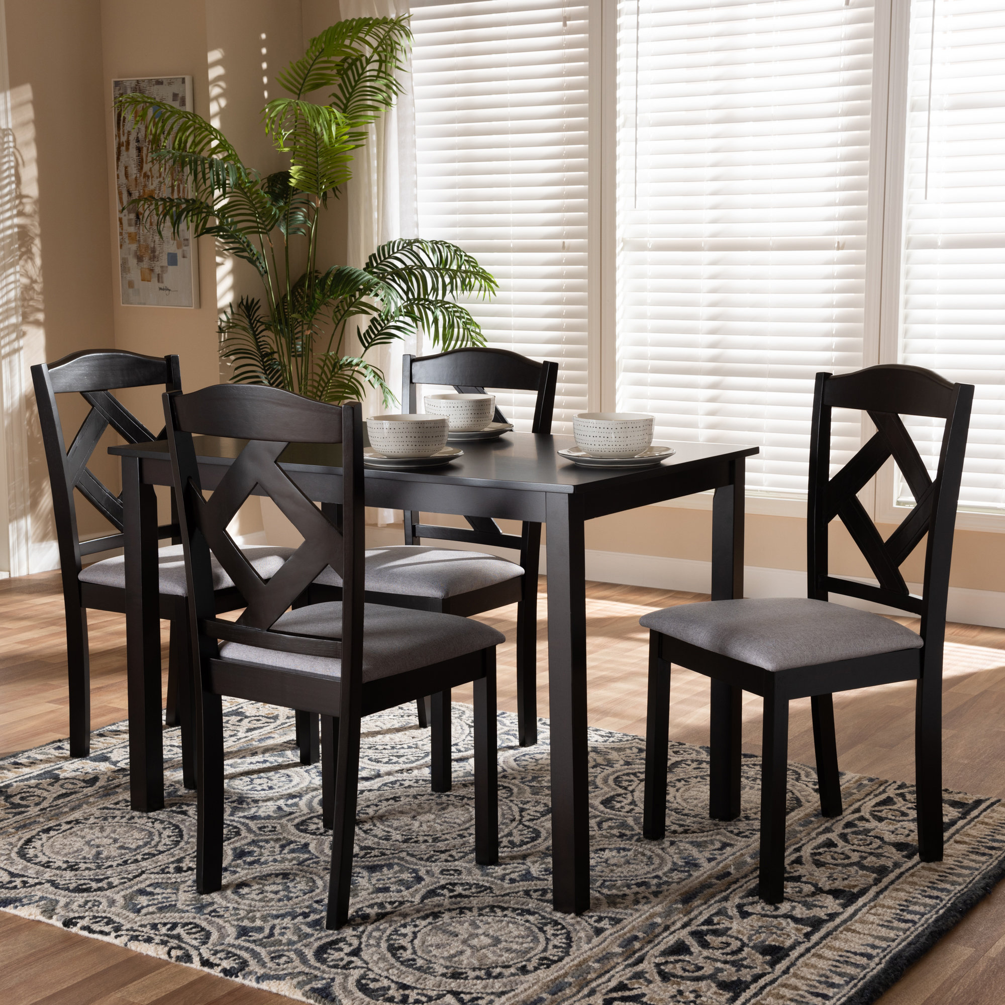Inspiration about Well Known Winston Porter Yarmouth 5 Piece Dining Set (#10 of 20)