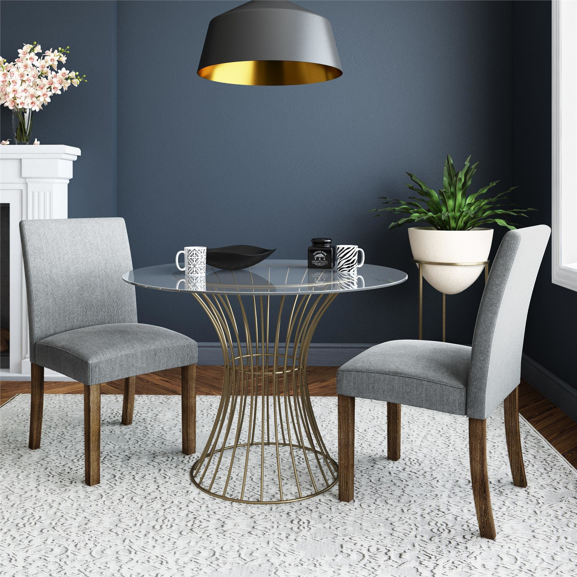 Well Liked 3 Piece Dining Sets Within Cosmolivingcosmopolitan Westwood 3 Piece Dining Set & Reviews (#20 of 20)