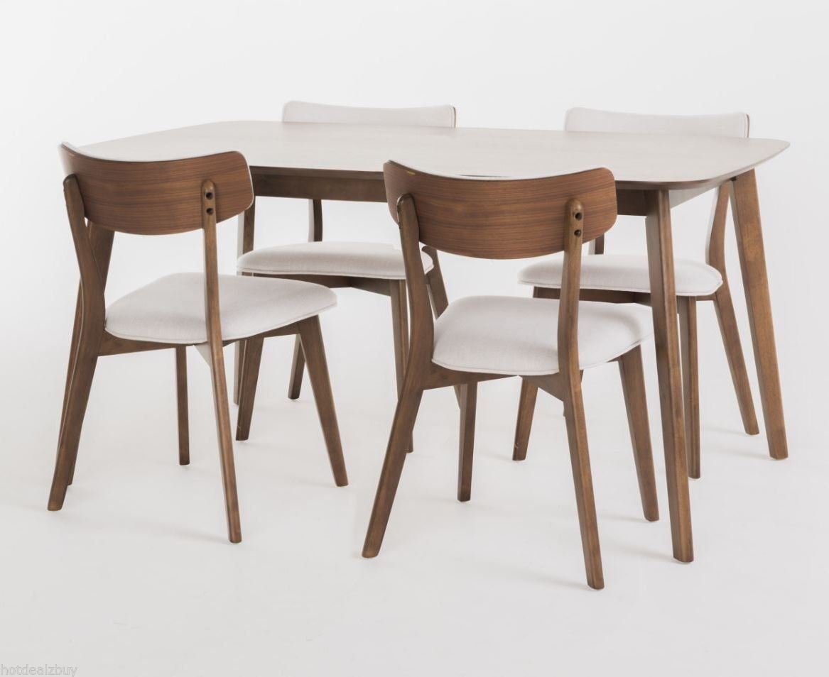 Inspiration about Well Liked Baxton Studio Keitaro 5 Piece Dining Sets With Regard To Moderndiningset Hashtag On Twitter (#14 of 20)