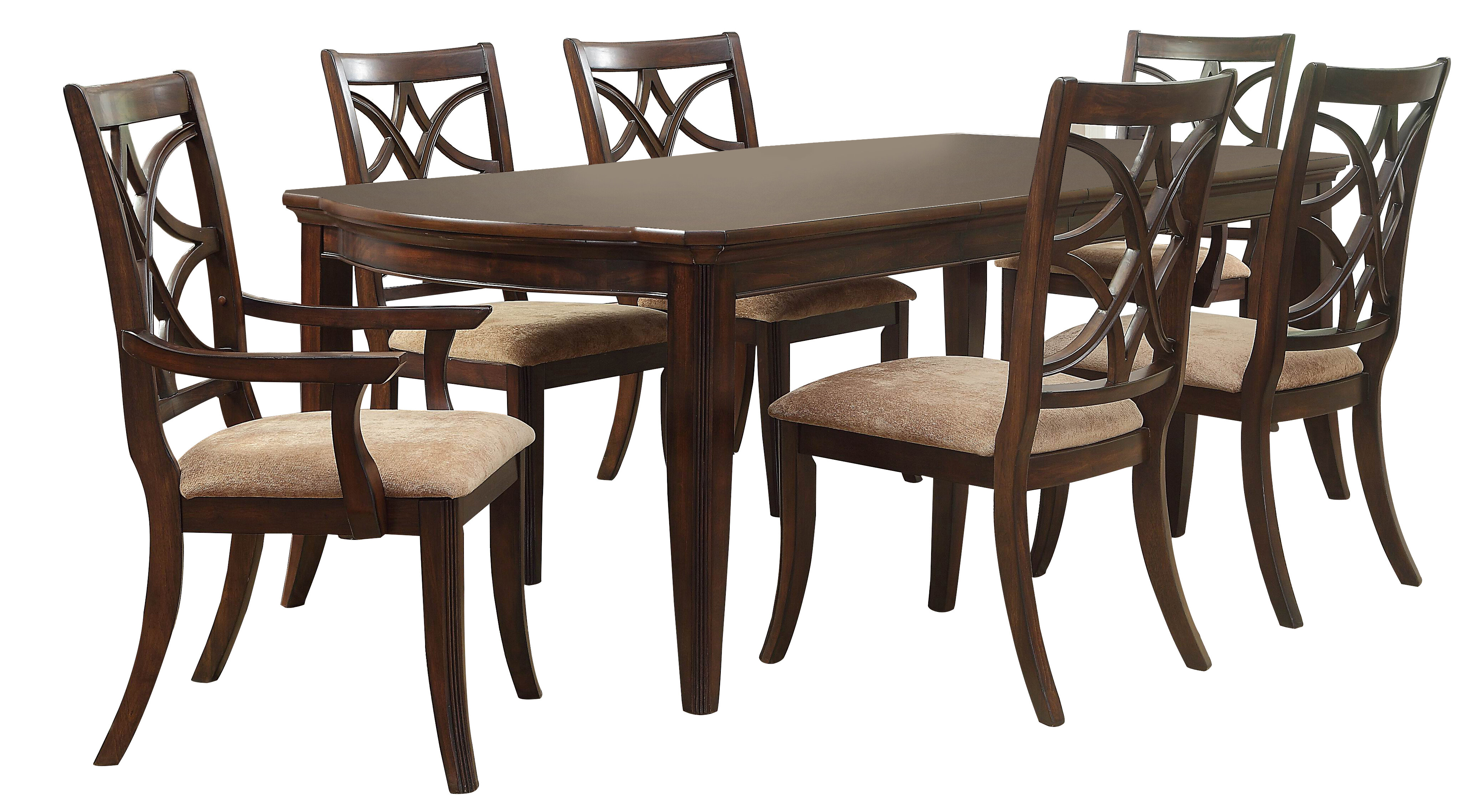 Well Liked Darby Home Co Kinsman 7 Piece Extendable Dining Set (#19 of 20)