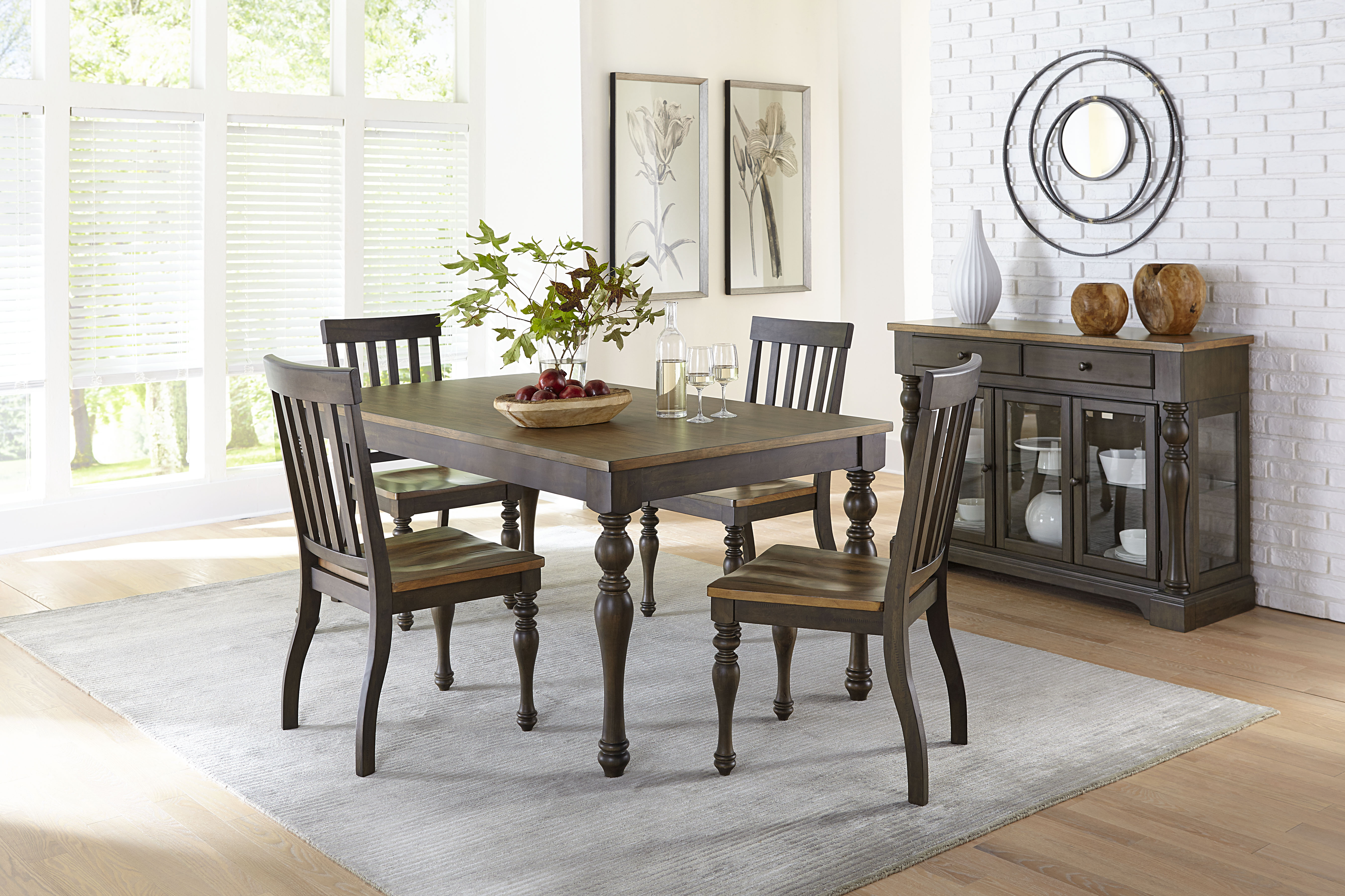 Inspiration about When All Is Said & Dunmore: We Love This New Dining Set! Intended For Recent Cargo 5 Piece Dining Sets (#11 of 20)