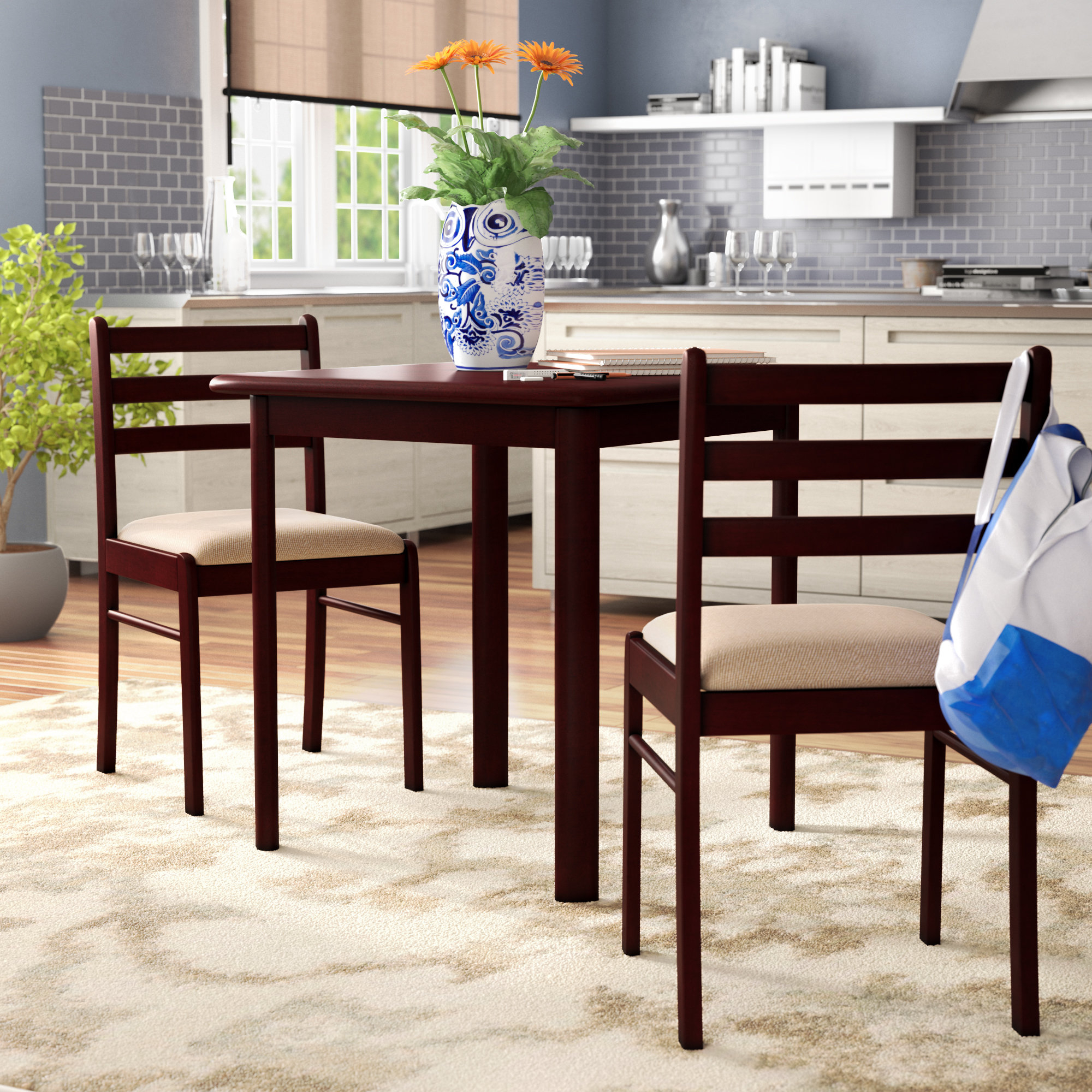 Inspiration about Widely Used Winston Porter Kinsler 3 Piece Bistro Set & Reviews (#1 of 20)