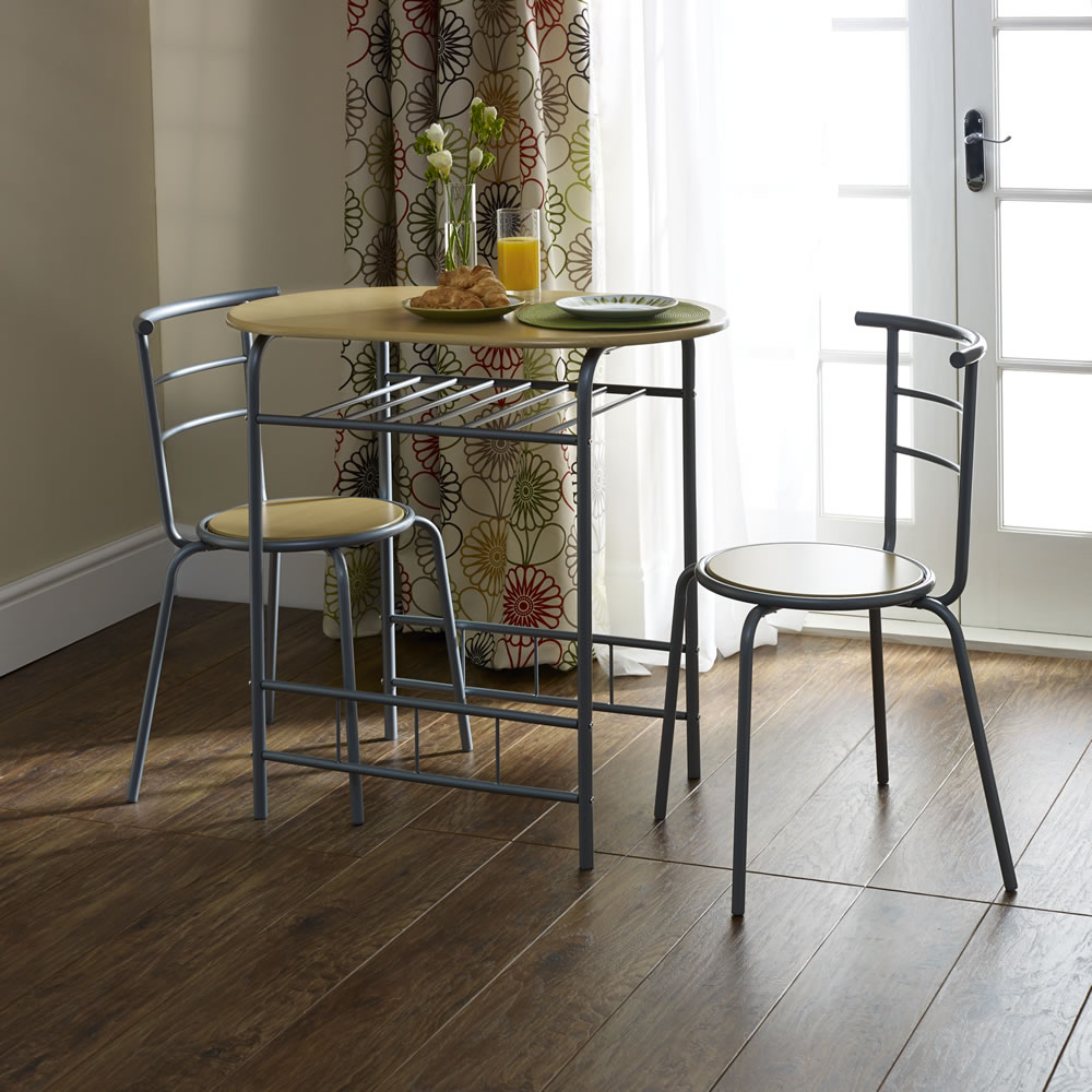 Inspiration about Wilko With Trendy 3 Piece Breakfast Dining Sets (#10 of 20)
