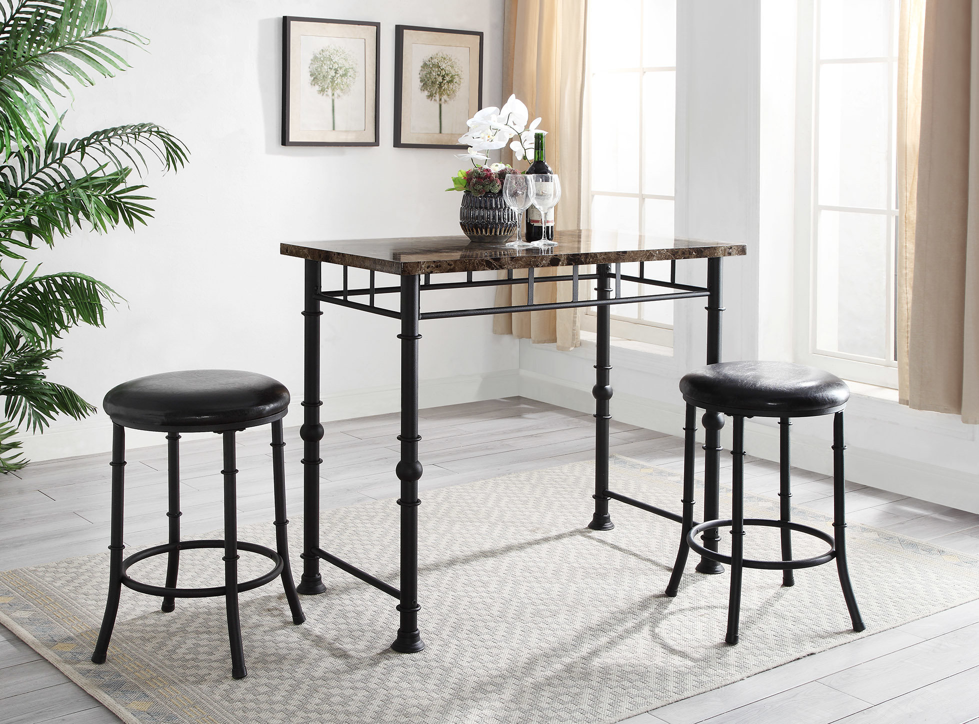Inspiration about Williston Forge Giles Dining Set 190217409236 (#19 of 20)
