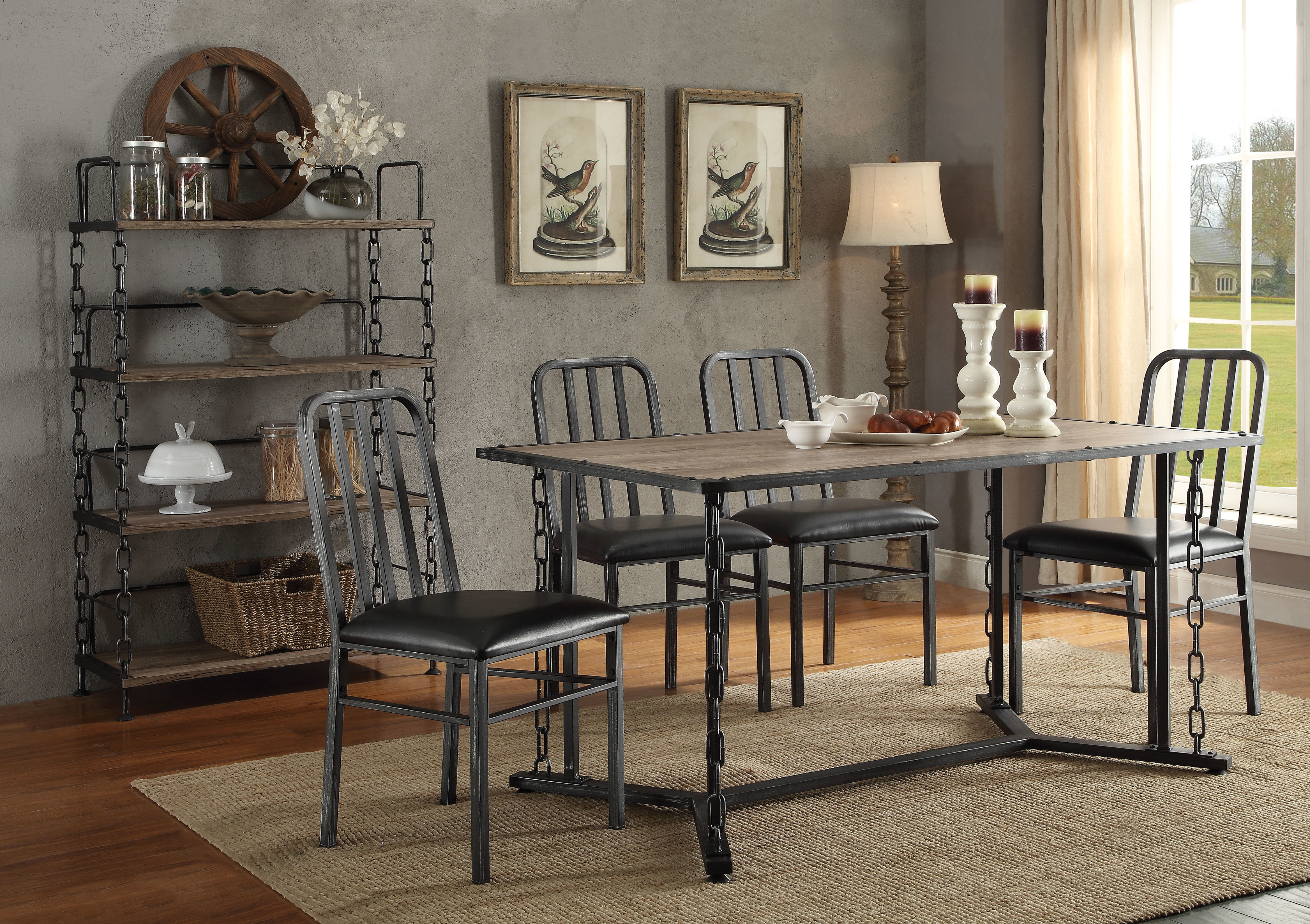 Inspiration about Williston Forge Maidenhead 5 Piece Dining Set (#3 of 20)