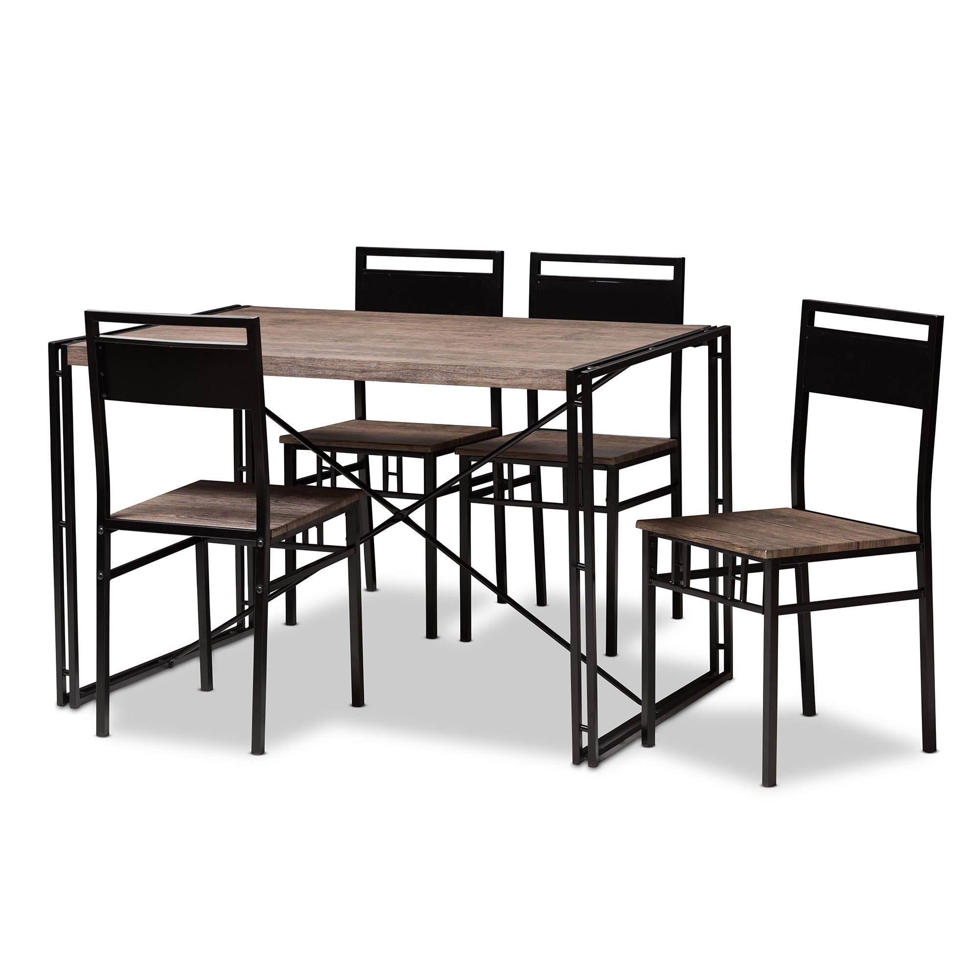 Inspiration about Williston Forge Mizell 5 Piece Dining Set & Reviews (#8 of 20)