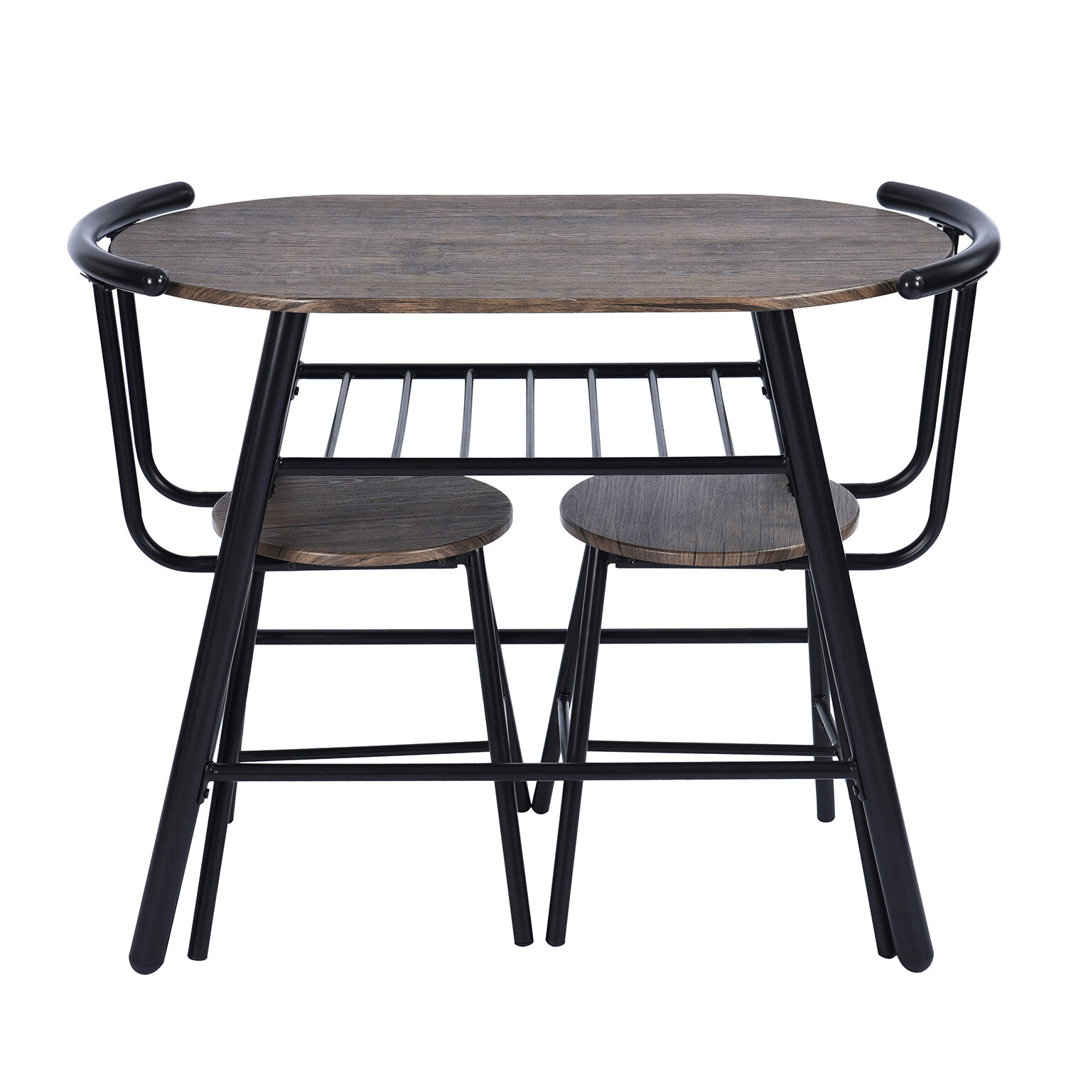 Inspiration about Williston Forge Peckham 3 Piece Dining Set (#17 of 20)