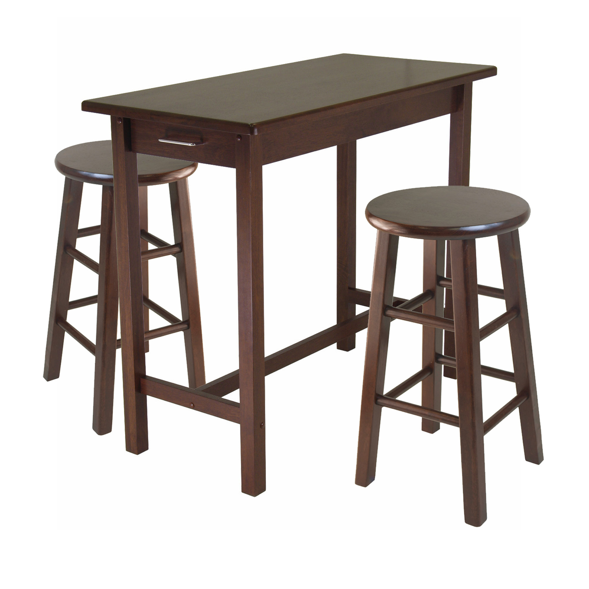 Inspiration about Winsome 3 Piece Breakfast Dining Set & Reviews (#11 of 20)