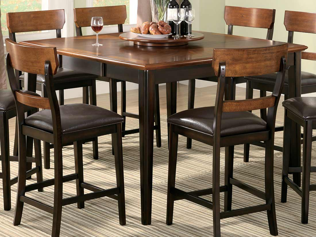 Inspiration about Winsome 3 Piece Counter Height Dining Sets In Preferred Square Pub Table And Chairs Modern 53 Sets Ly Cilla Rectangle Bar (#16 of 20)