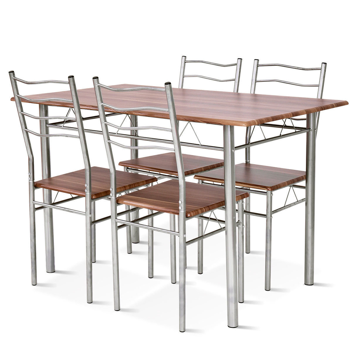 Popular Photo of Casiano 5 Piece Dining Sets