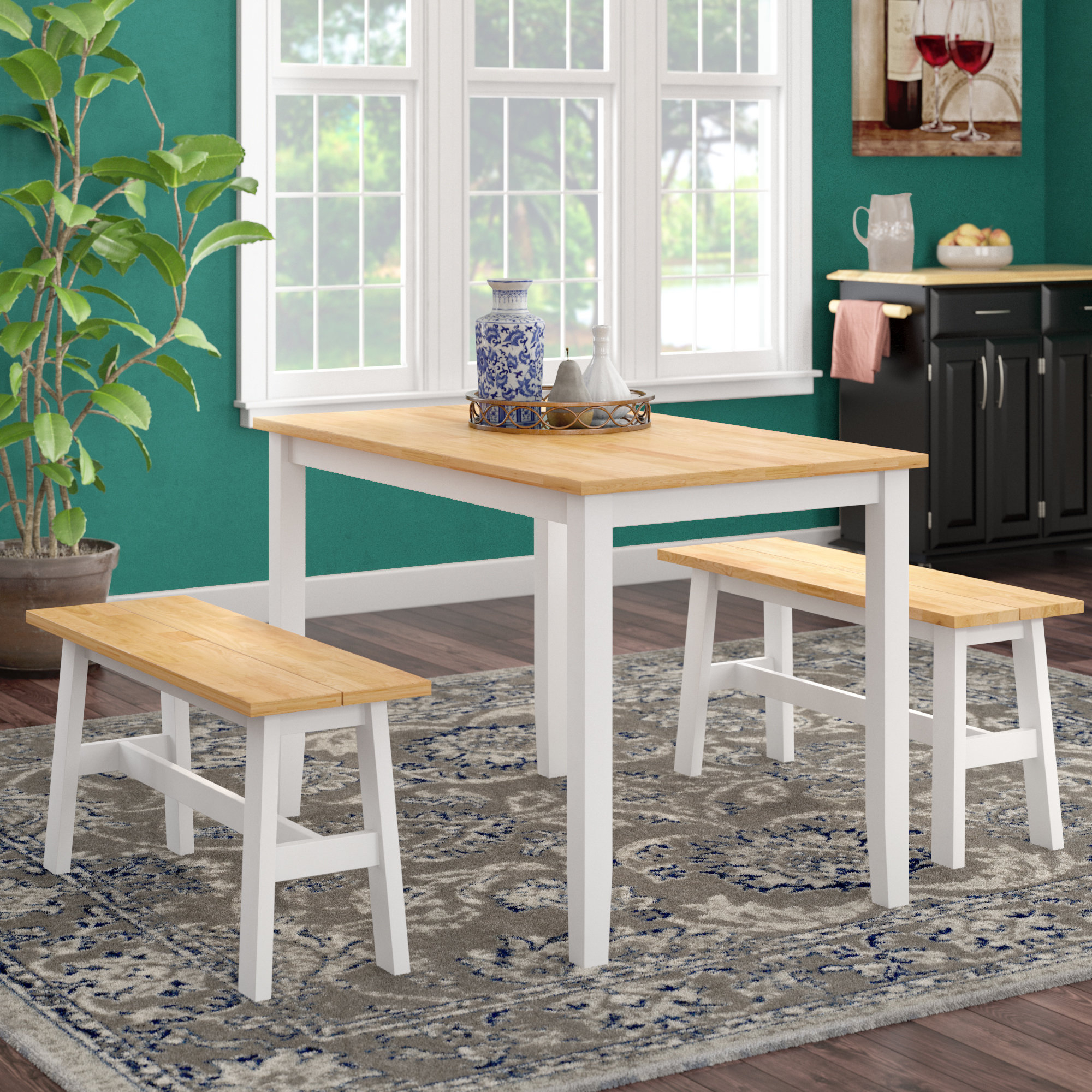 Inspiration about Winston Porter Kaya 3 Piece Dining Set & Reviews (#1 of 20)