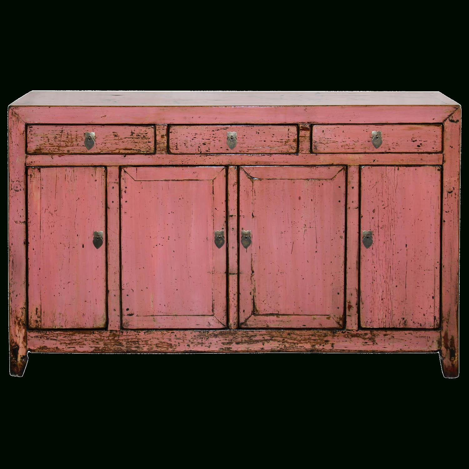 Inspiration about 1900S Asian Antique Pink Sideboard In 2019 | Shh We Won't Pertaining To Recent Solana Sideboards (#13 of 20)