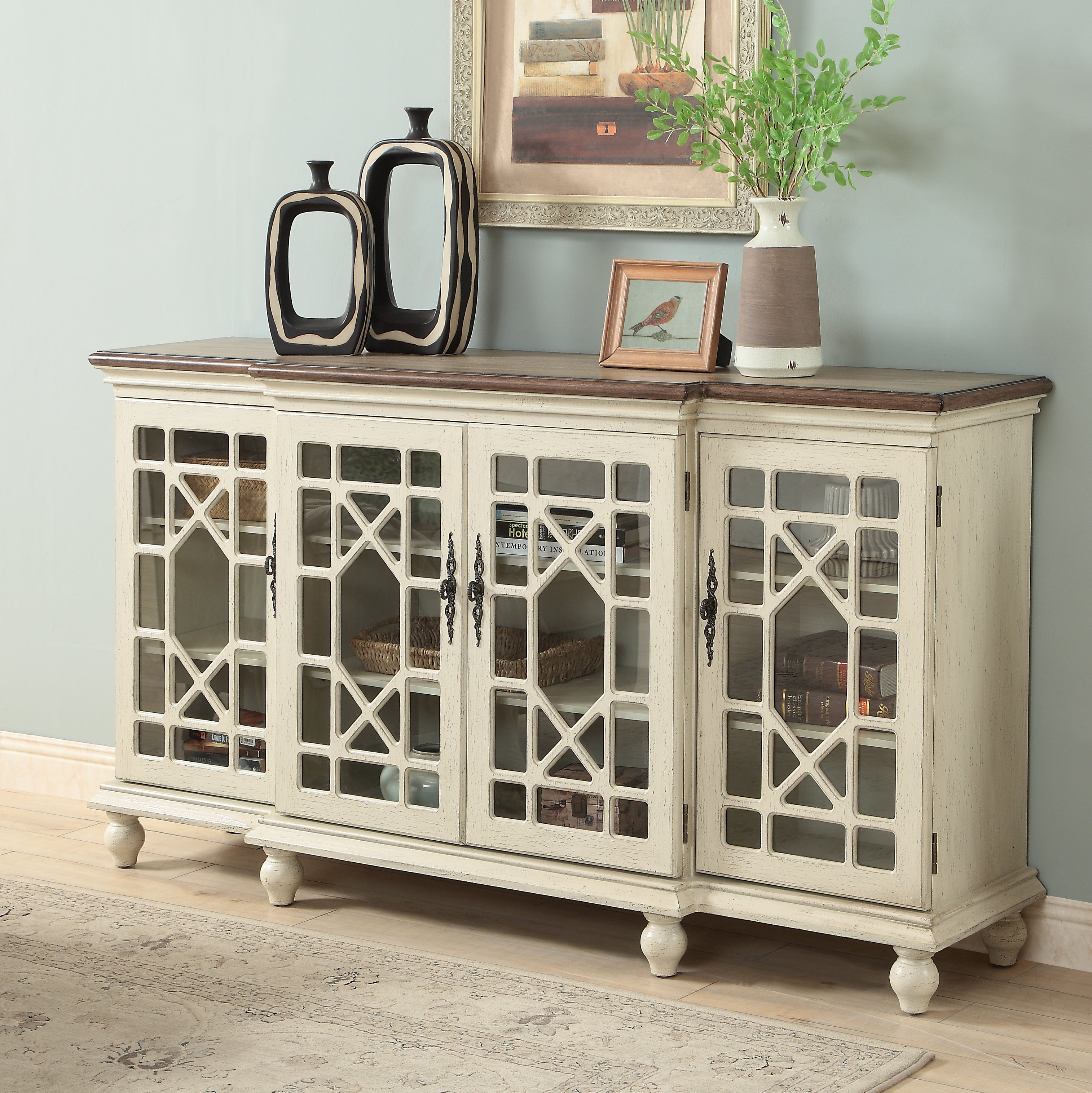 Inspiration about 2 Door Media Credenza | Wayfair With Regard To Newest Errol Media Credenzas (#18 of 20)