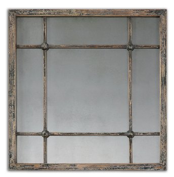 Inspiration about 2 Piece Priscilla Square Traditional Beveled Distressed Accent Mirror Set With Regard To 2 Piece Priscilla Square Traditional Beveled Distressed Accent Mirror Sets (#8 of 20)