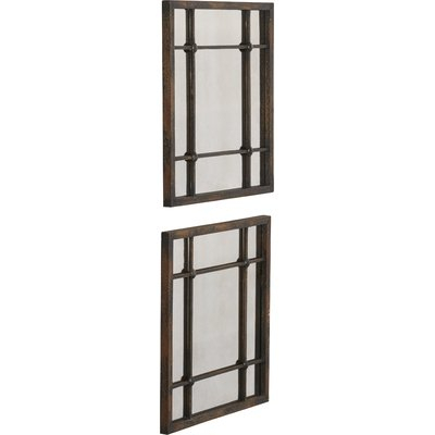 Inspiration about 2 Piece Priscilla Square Traditional Beveled Distressed Inside 2 Piece Priscilla Square Traditional Beveled Distressed Accent Mirror Sets (#9 of 20)
