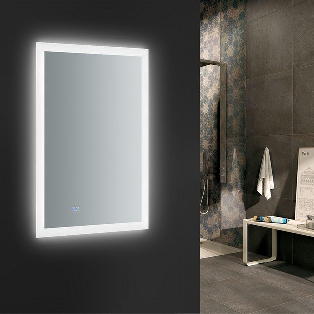 Inspiration about 24 X 36 Inch Bathroom Mirror | Home Design Ideas Within Eriq Framed Wall Mirrors (#16 of 20)