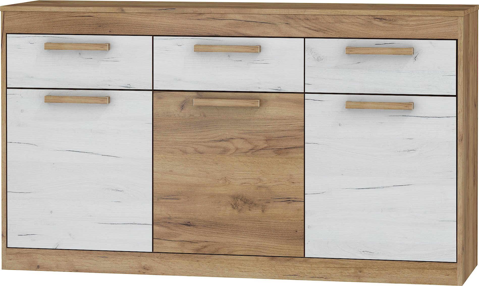 Inspiration about 3 Drawer Sideboard | Wayfair Inside 2017 Baleine 3 Drawer Sideboards (#18 of 20)