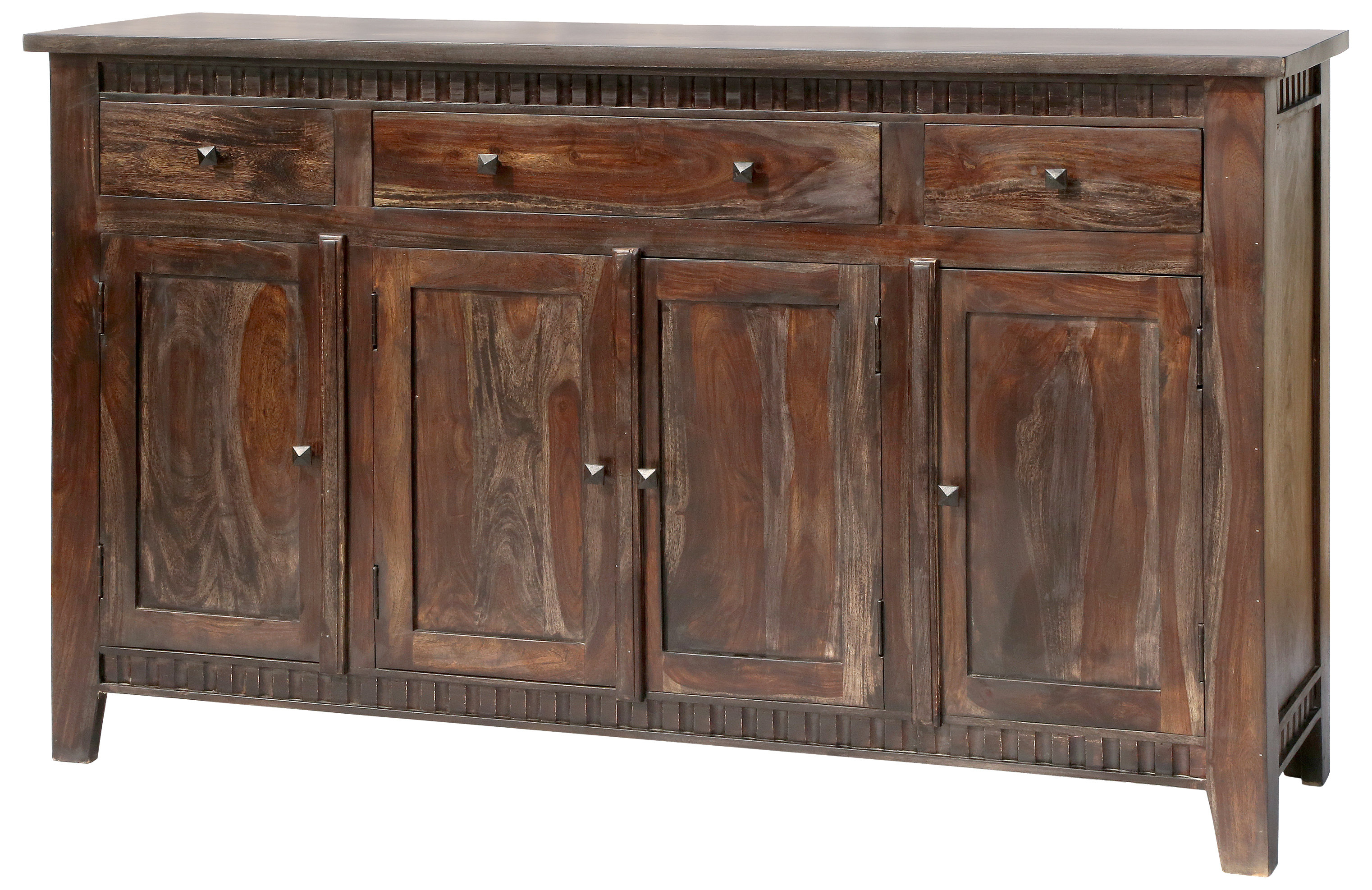 3 Drawer Sideboard | Wayfair With Regard To Most Recent Drummond 3 Drawer Sideboards (#5 of 20)