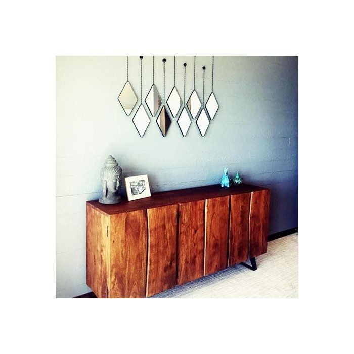 Inspiration about 3 Piece Dima Hanging Modern & Contemporary Mirror Set In For 3 Piece Dima Hanging Modern & Contemporary Mirror Sets (#12 of 20)