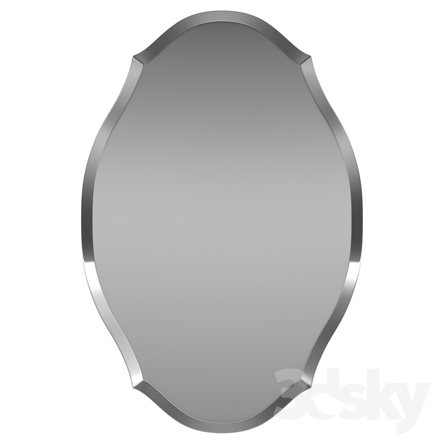 3D Models: Mirror – Egor Accent Mirror Wrlo7860 Within Egor Accent Mirrors (View 4 of 20)