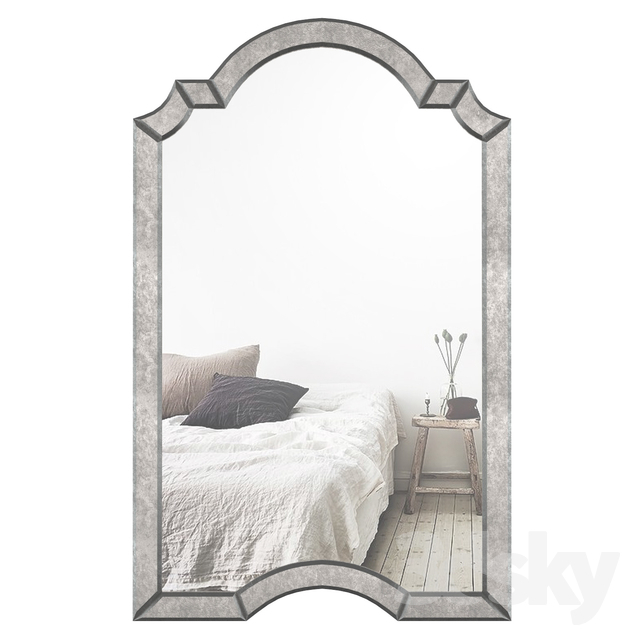 Inspiration about 3D Models: Mirror – Ekaterina Arch – Crowned Top Wall Mirror Intended For Ekaterina Arch/crowned Top Wall Mirrors (#9 of 20)