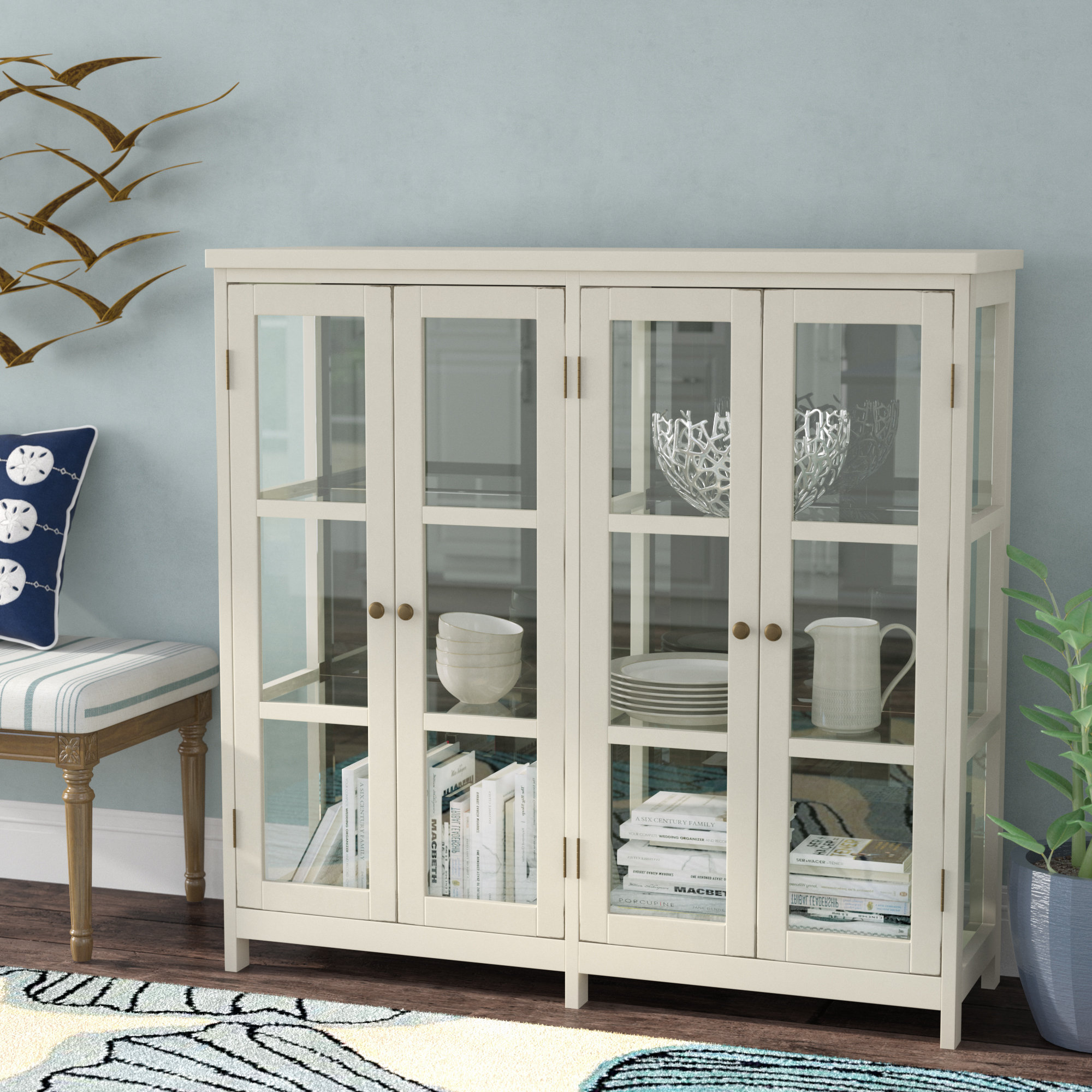 Inspiration about 4 Door Accent Cabinet With 2017 Eau Claire 6 Door Accent Cabinets (#18 of 20)