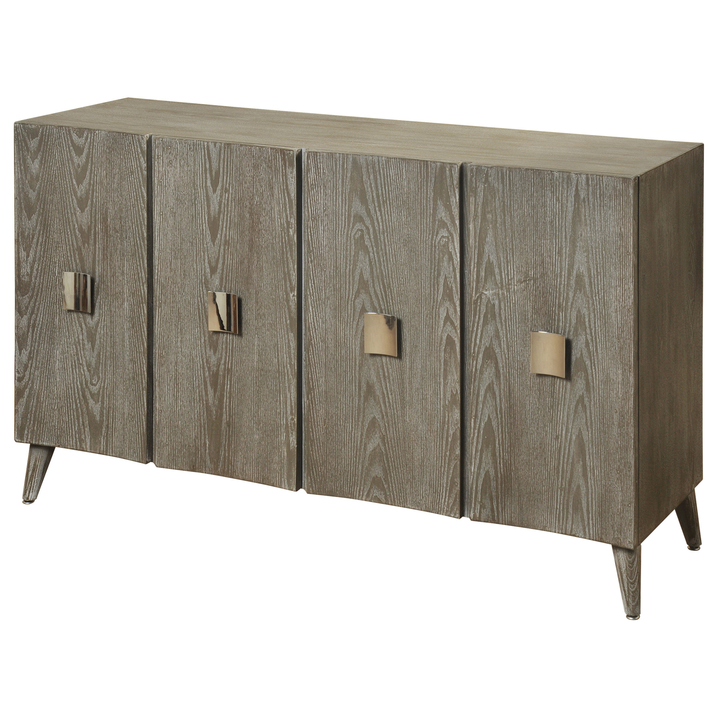 Inspiration about 4 Door Buffet | Wayfair With 2017 Kieth 4 Door Credenzas (#14 of 20)