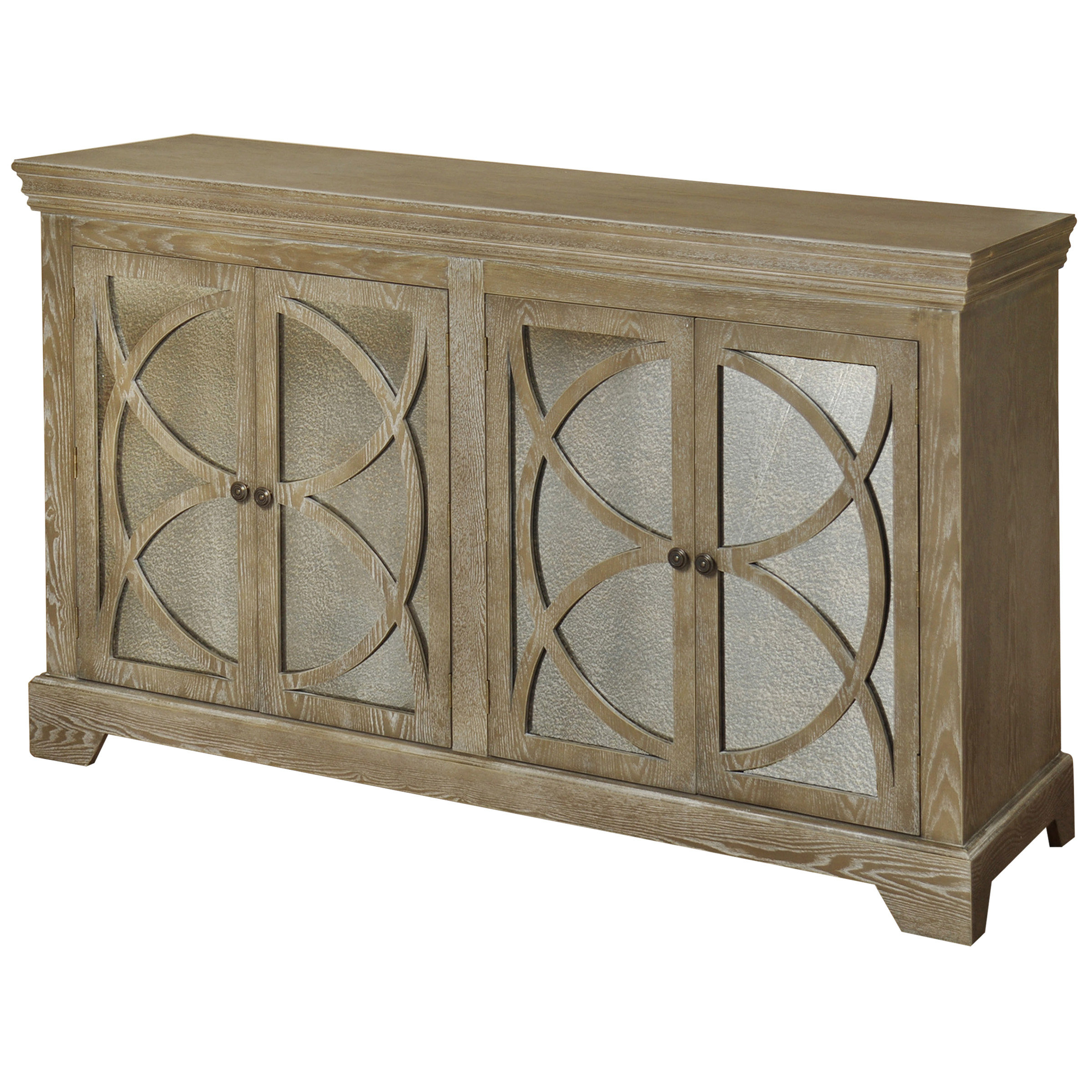 60 Inch Credenza | Wayfair Within Best And Newest Chaffins Sideboards (#4 of 20)