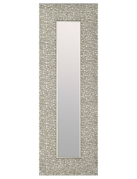 Inspiration about 9.25X27.75 Silver Mirror (Set Of 3) In Silver Frame Accent Mirrors (#14 of 20)