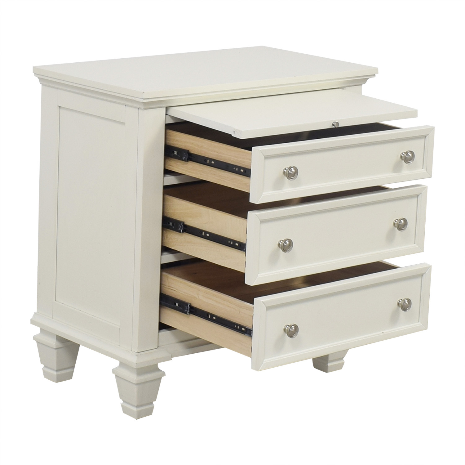 Inspiration about 90% Off – Wildon Home Wildon Home Gilmore Three Drawer Nightstand / Tables Regarding Recent Sideboards By Wildon Home (#16 of 20)