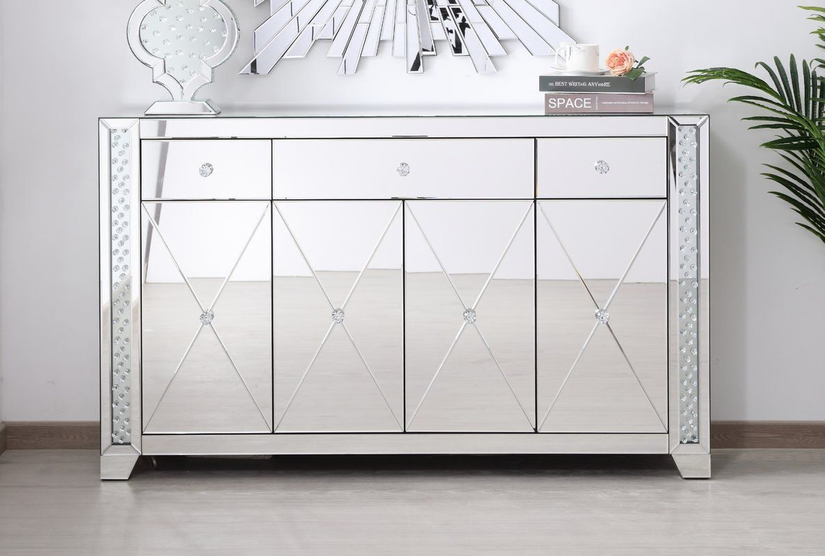 Abhinav Credenza | Home Decor In 2019 | Office Cabinets Intended For Newest Lainey Credenzas (#5 of 20)