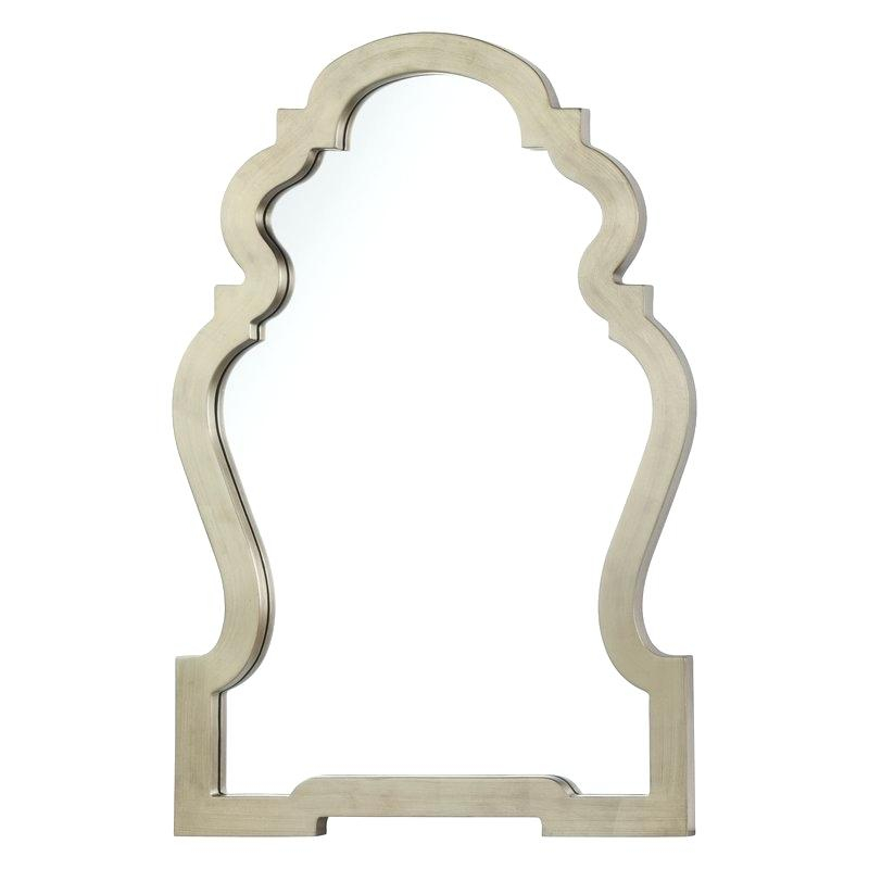 Accent Wall Mirrors Beaded Accent Wall Mirror Reviews Accent Within Beaded Accent Wall Mirrors (#1 of 20)