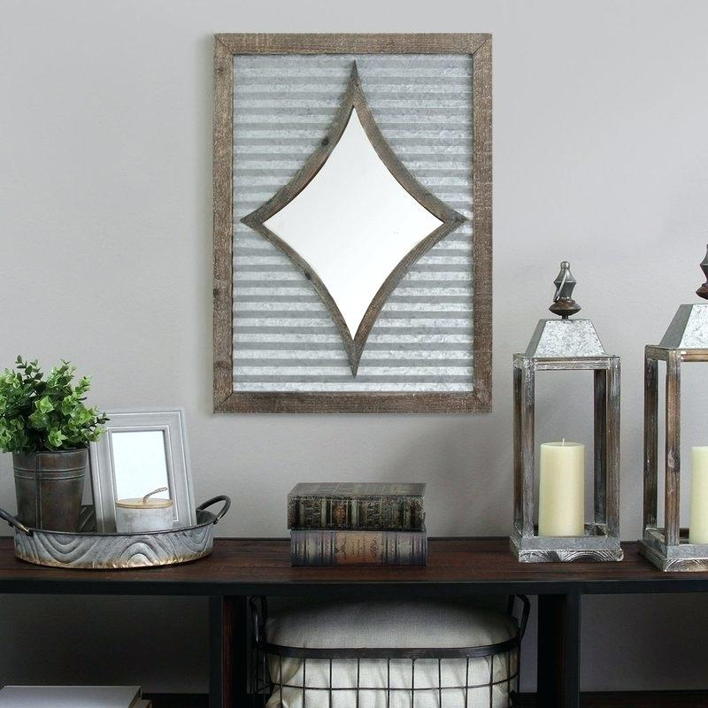 Accent Wall Mirrors Throughout Polito Cottage/country Wall Mirrors (#3 of 20)