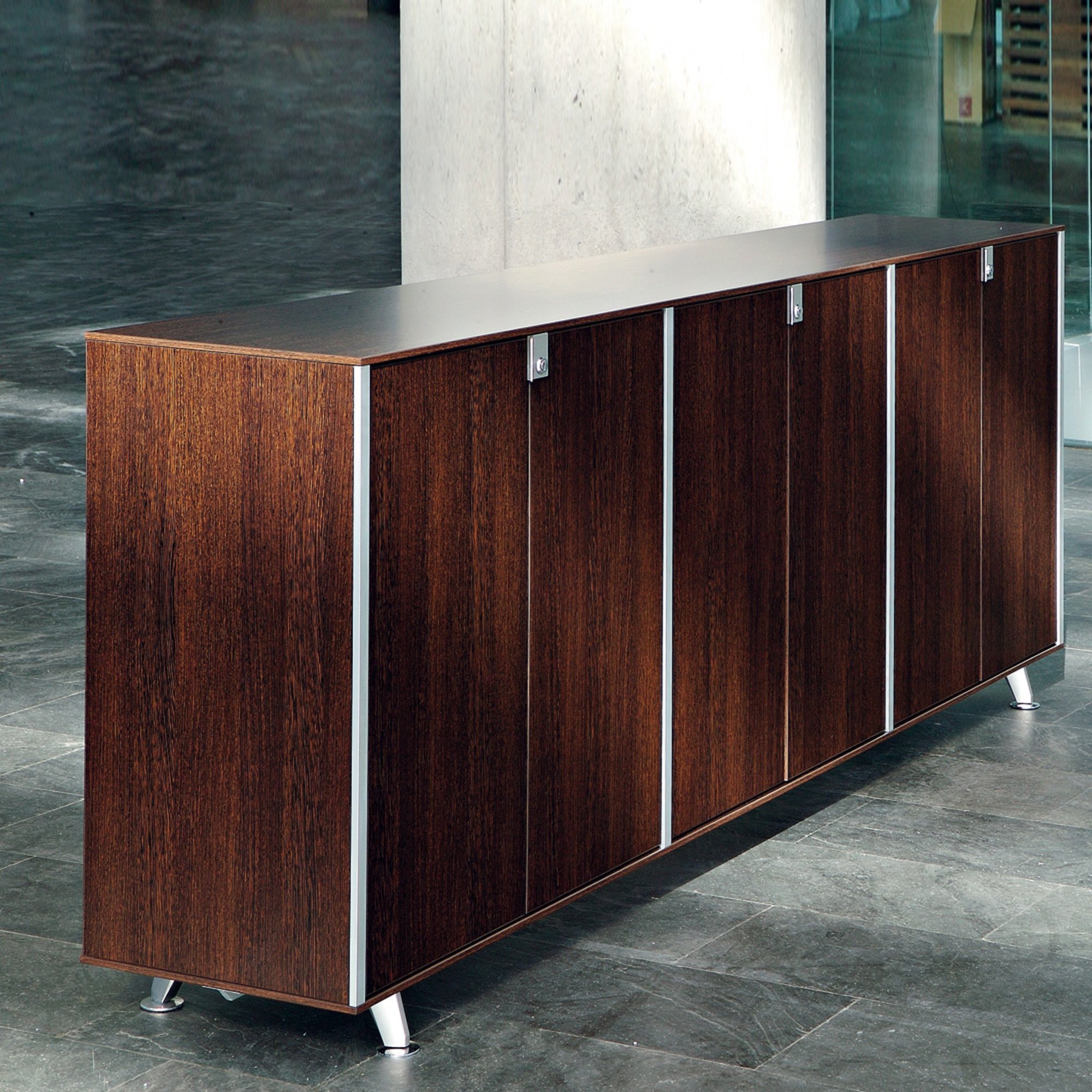 Actiu Block 35 Sideboard Mit Türen Aus Melamin 2Oh Intended For Most Up To Date Alegre Sideboards (#1 of 20)