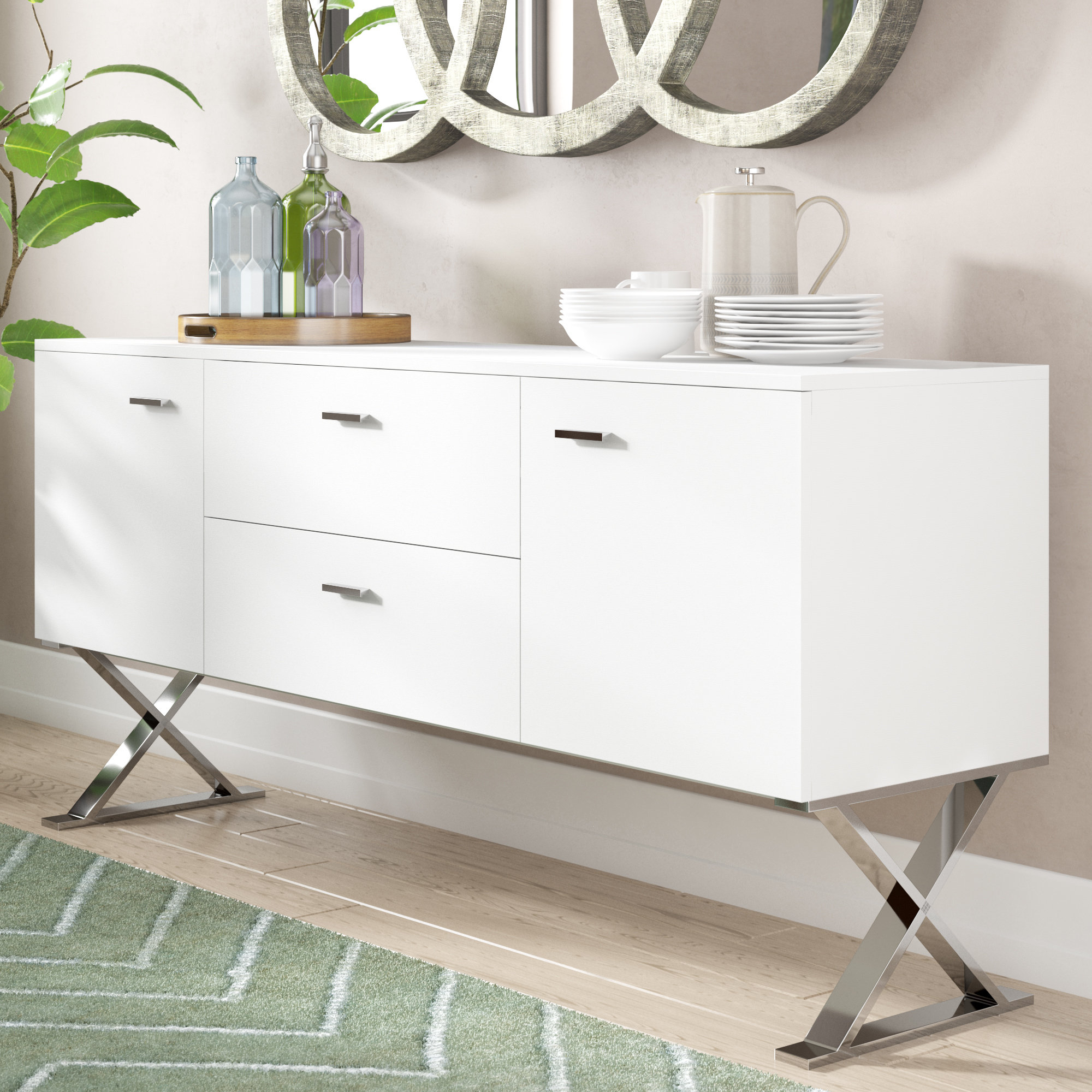 Alexa Buffet Within Most Popular Emiliano Sideboards (#2 of 20)