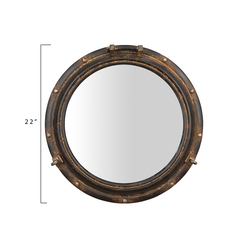 Popular Photo of Alie Traditional Beveled Distressed Accent Mirrors
