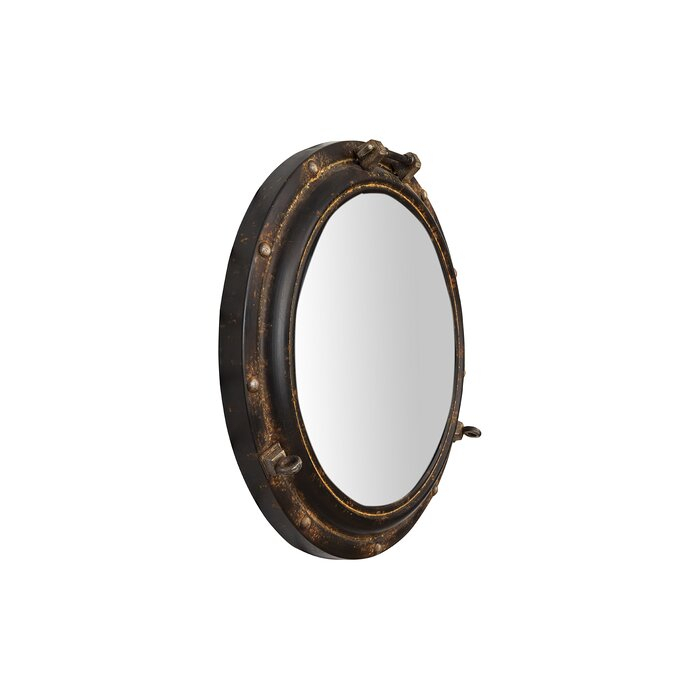 Alie Traditional Beveled Distressed Accent Mirror Intended For Alie Traditional Beveled Distressed Accent Mirrors (#5 of 20)
