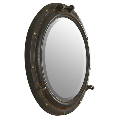 Alie Traditional Beveled Distressed Wall Mirror In 2019 With Alie Traditional Beveled Distressed Accent Mirrors (#14 of 20)
