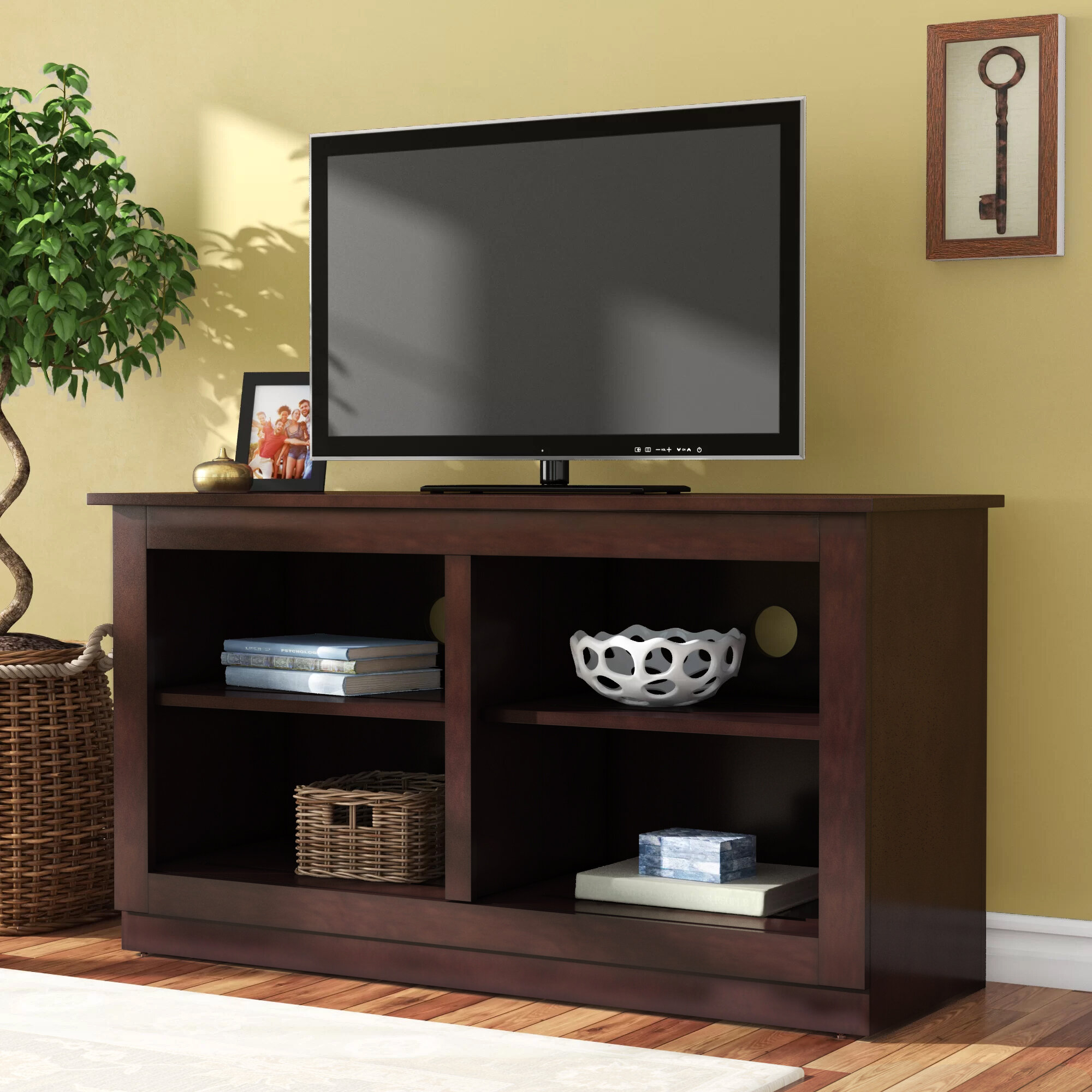 """Andover Mills Xochitl Tv Stand For Tvs Up To 42"""" With Most Popular Ericka Tv Stands For Tvs Up To 42"""" (#1 of 20)"""